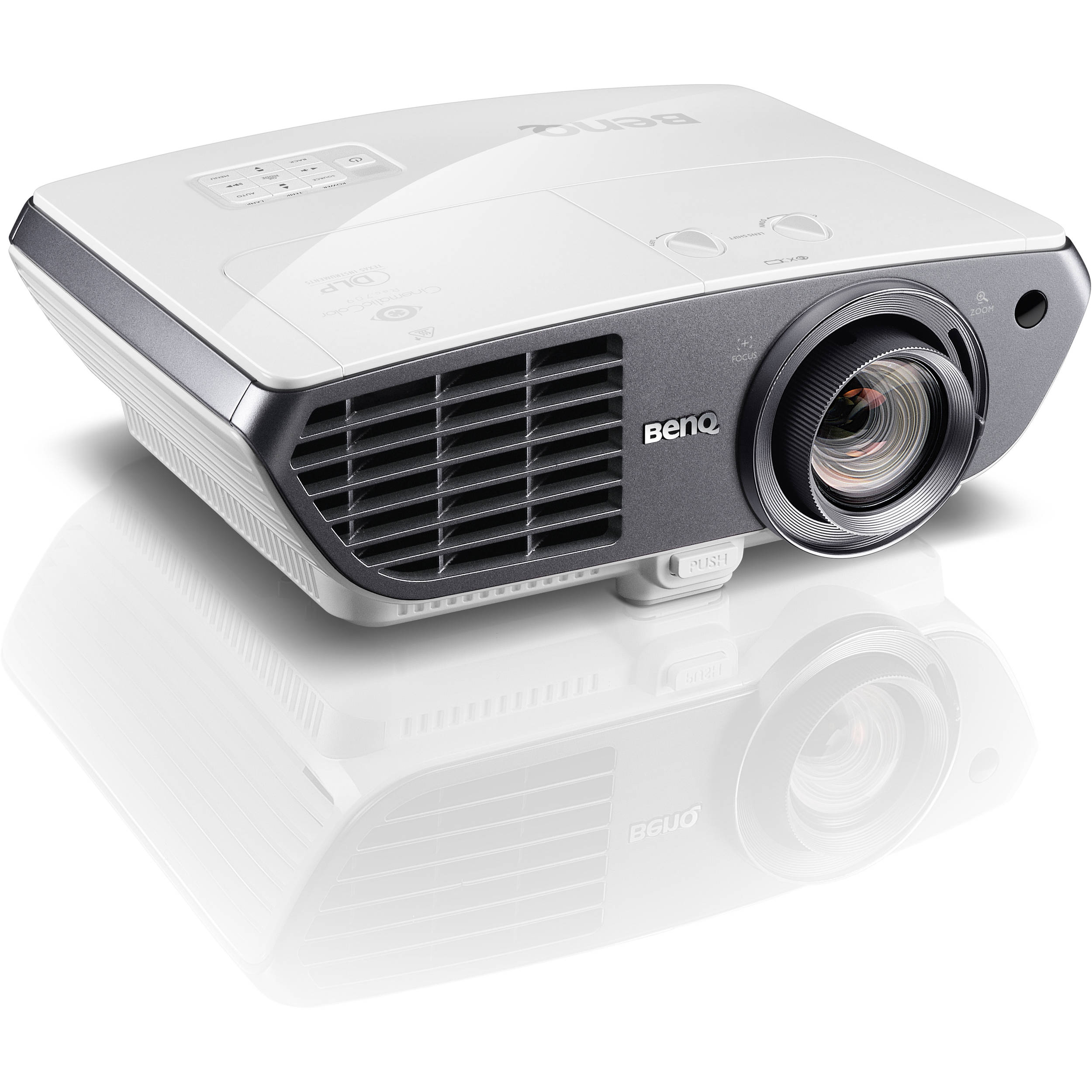 Benq ht4050 full hd 3d dlp home theater projector ht4050 b h for Hd projector