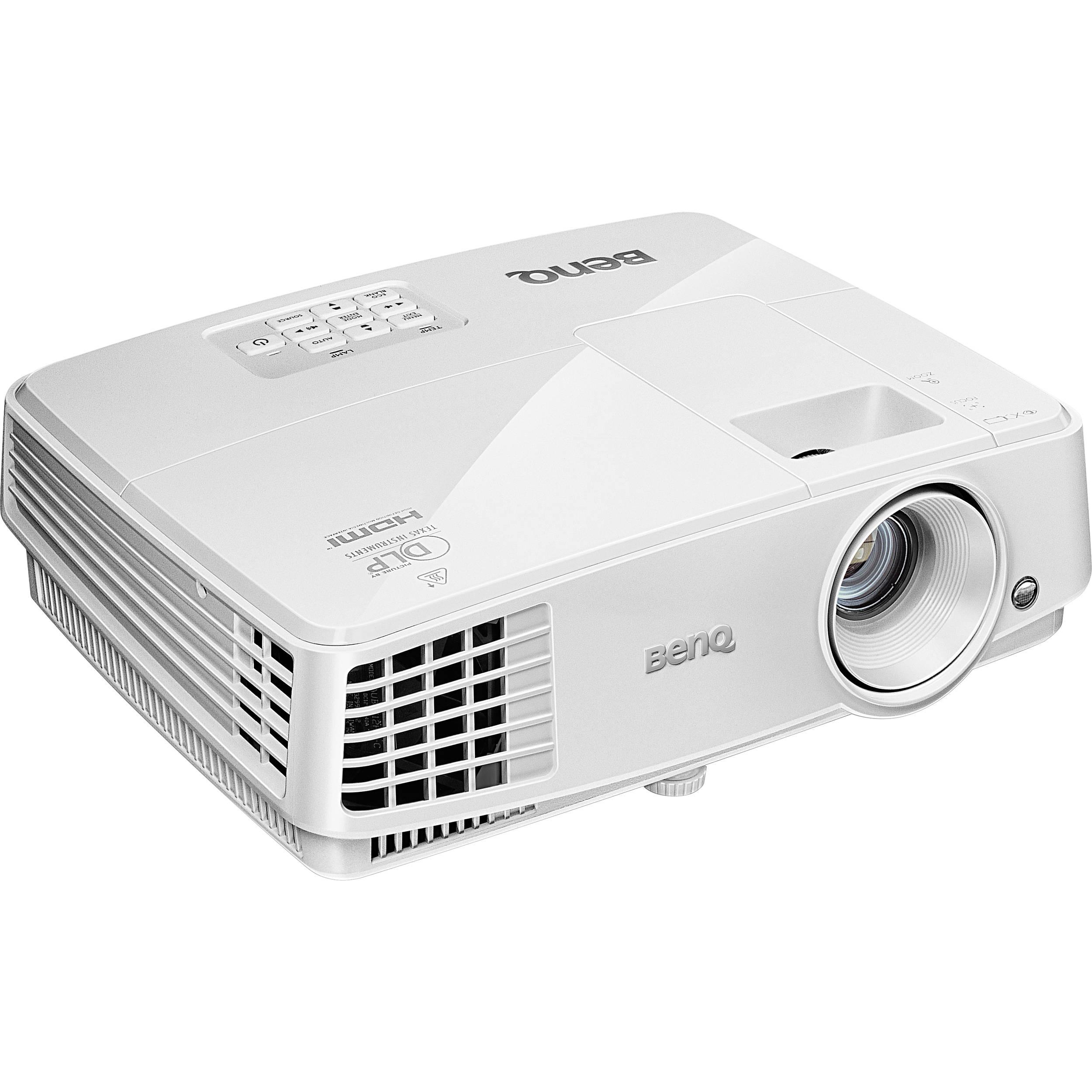 Benq mw526 wxga dlp projector mw526 b h photo video for Dlp micro projector