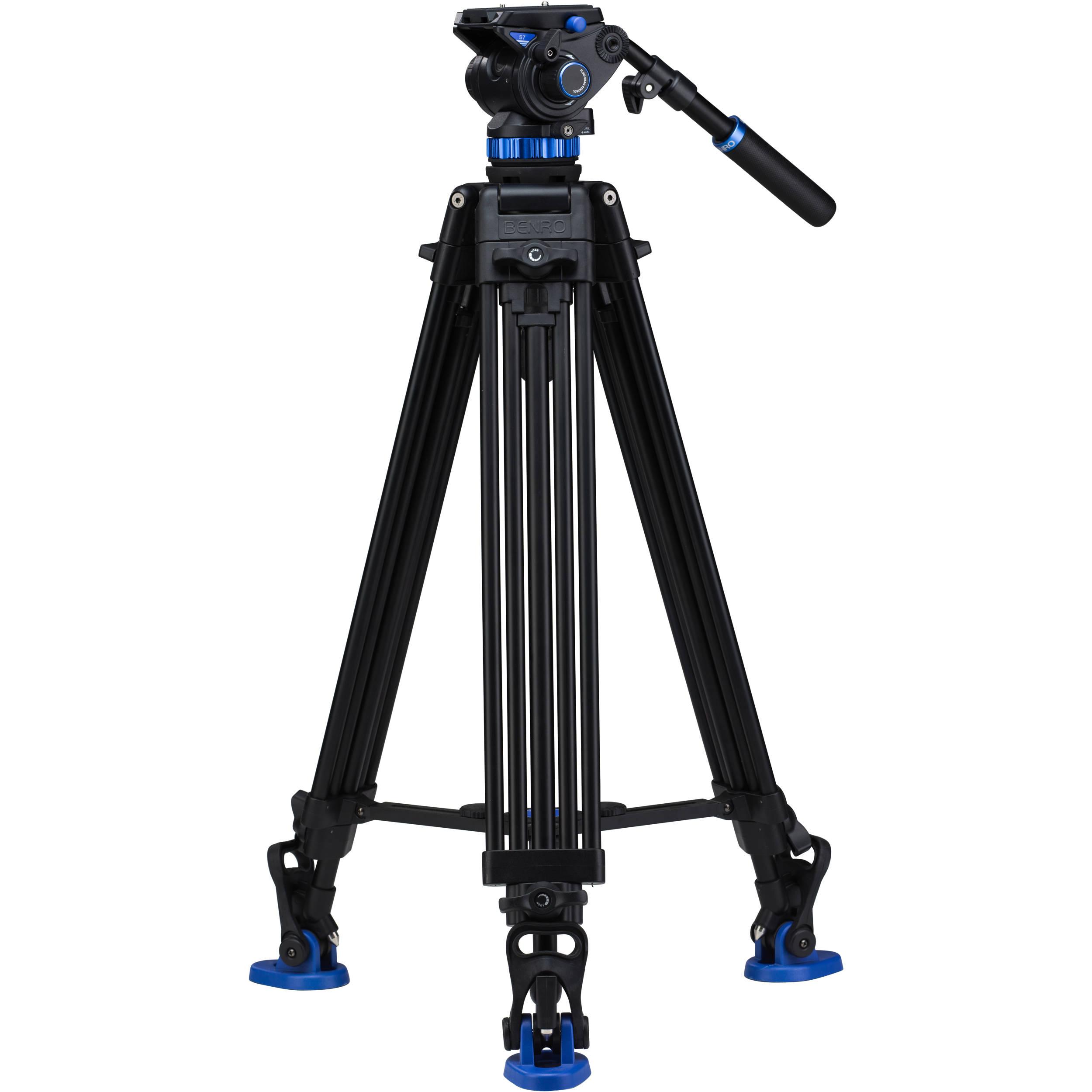 Benro S7 Dual Stage Video Tripod Kit A573TBS7 B&H Photo Video