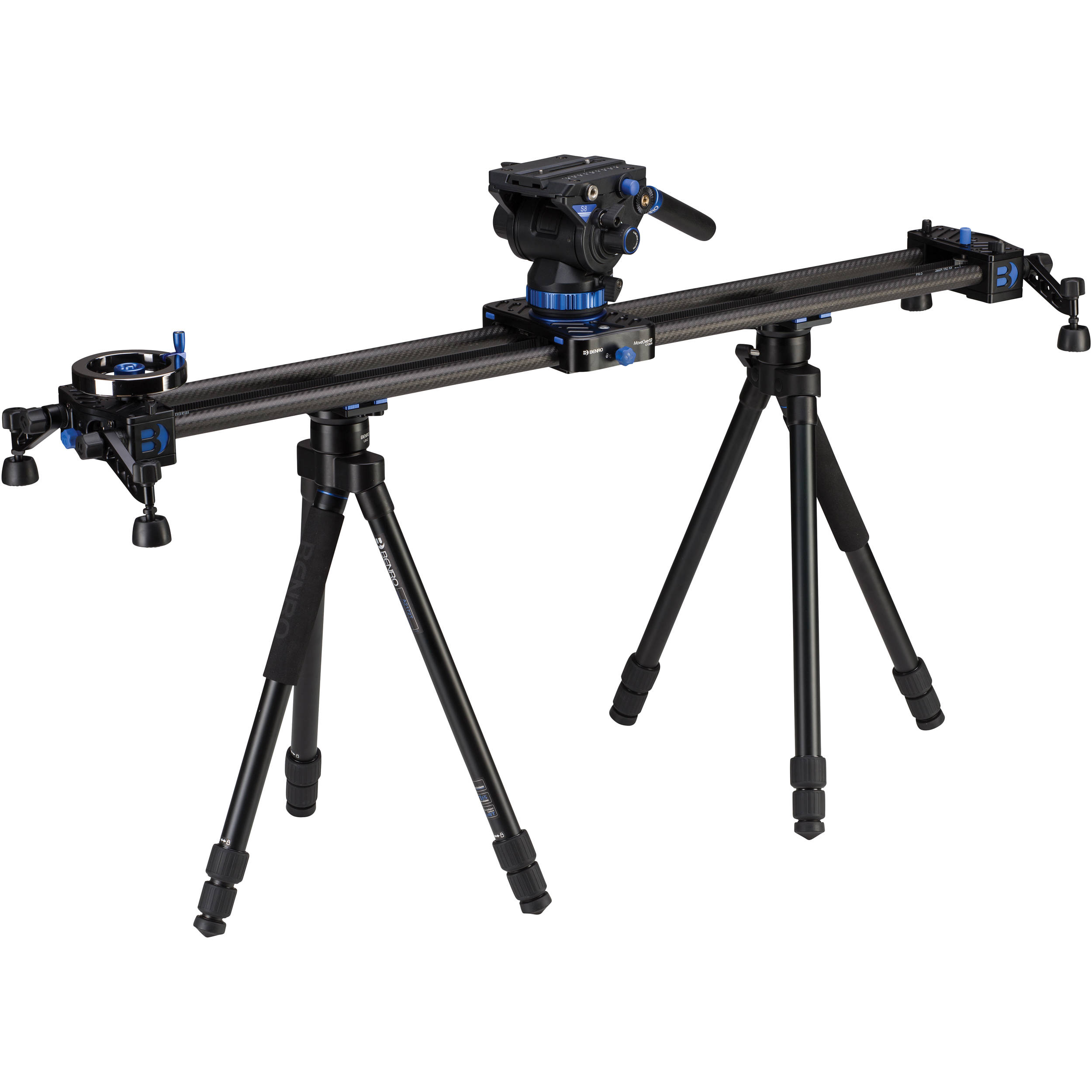 Benro Moveover12 35 4 Quot Dual Carbon Rail Slider Kit C12d9k1
