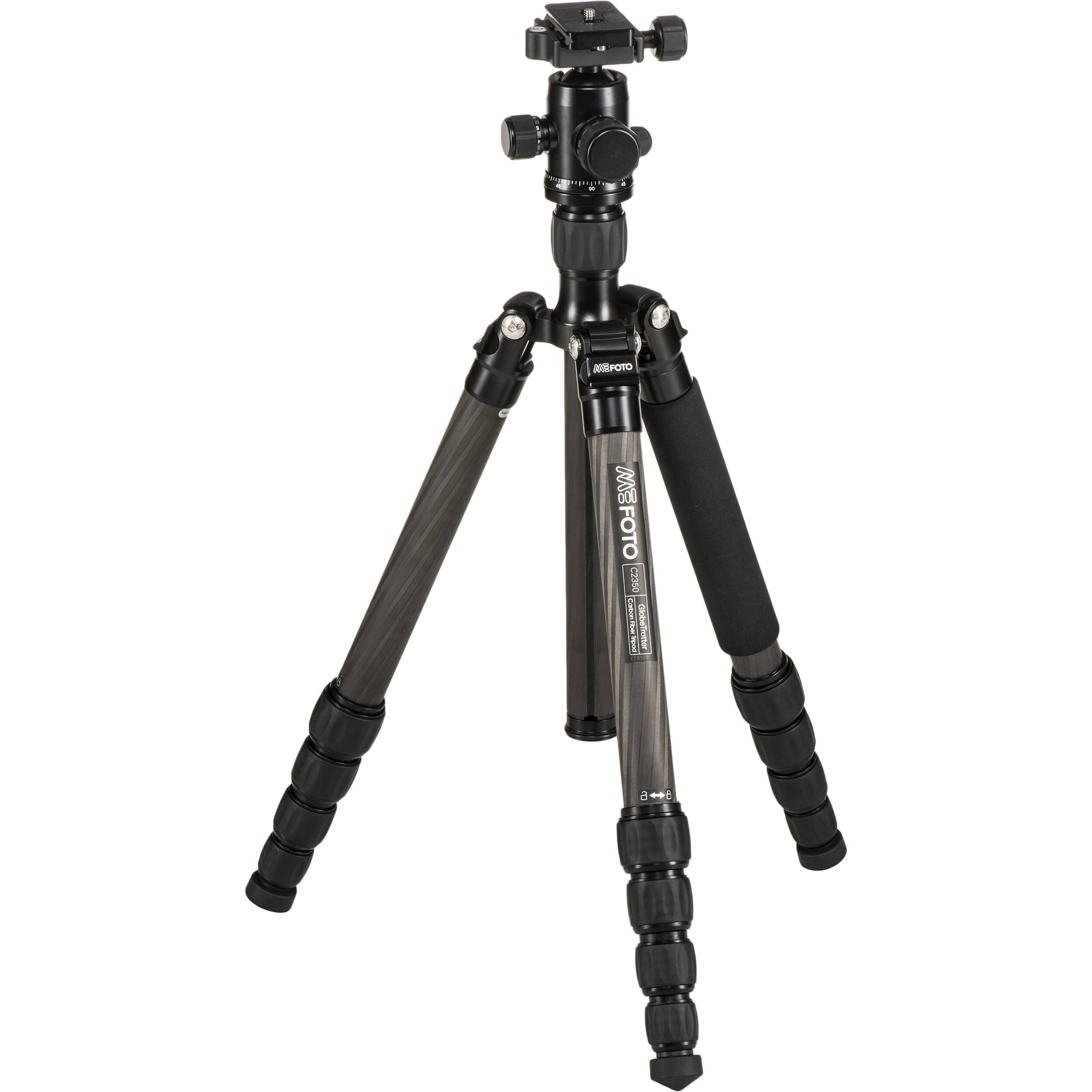 Camera Tripods For Dslr Camera mefoto globetrotter carbon fiber travel tripod kit c2350q2k bh black