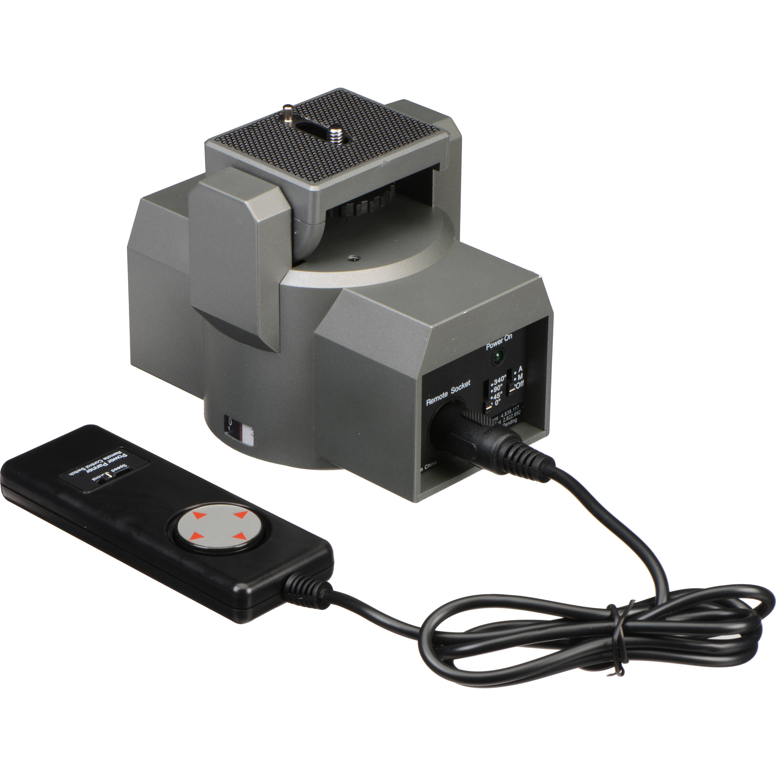Bescor mp 1e motorized pan head with power supply and mp for Motorized video camera mount