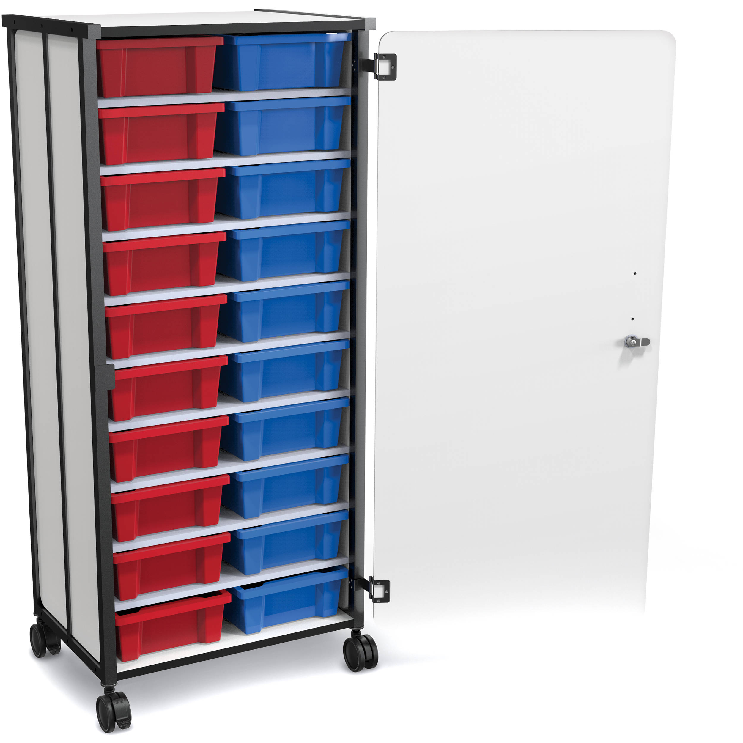 20 Portable Storage : Best rite mobile tub storage cart with full set of tubs