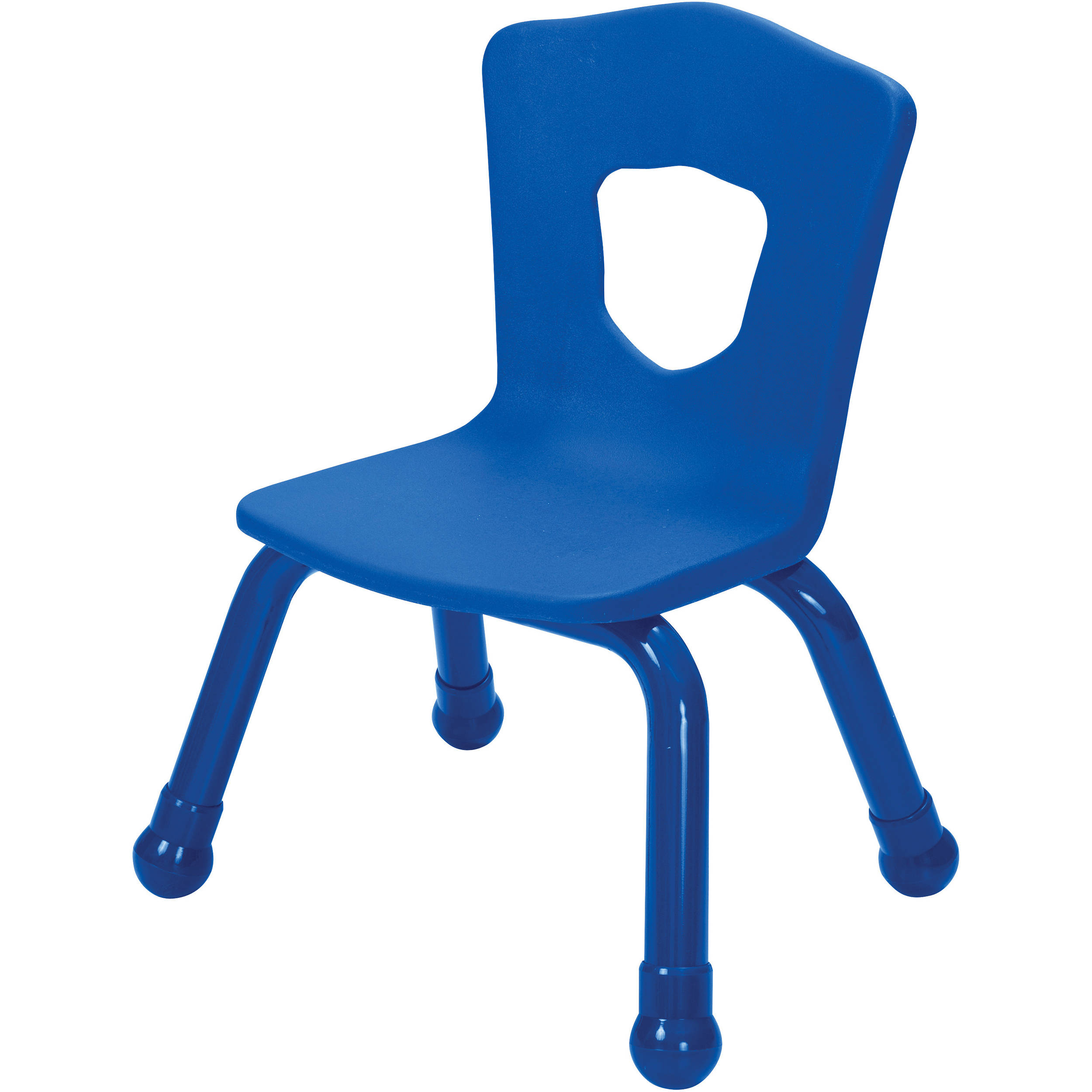 Best Rite 34518 Brite Kids Chair (Royal Blue - Set of 4) 34518