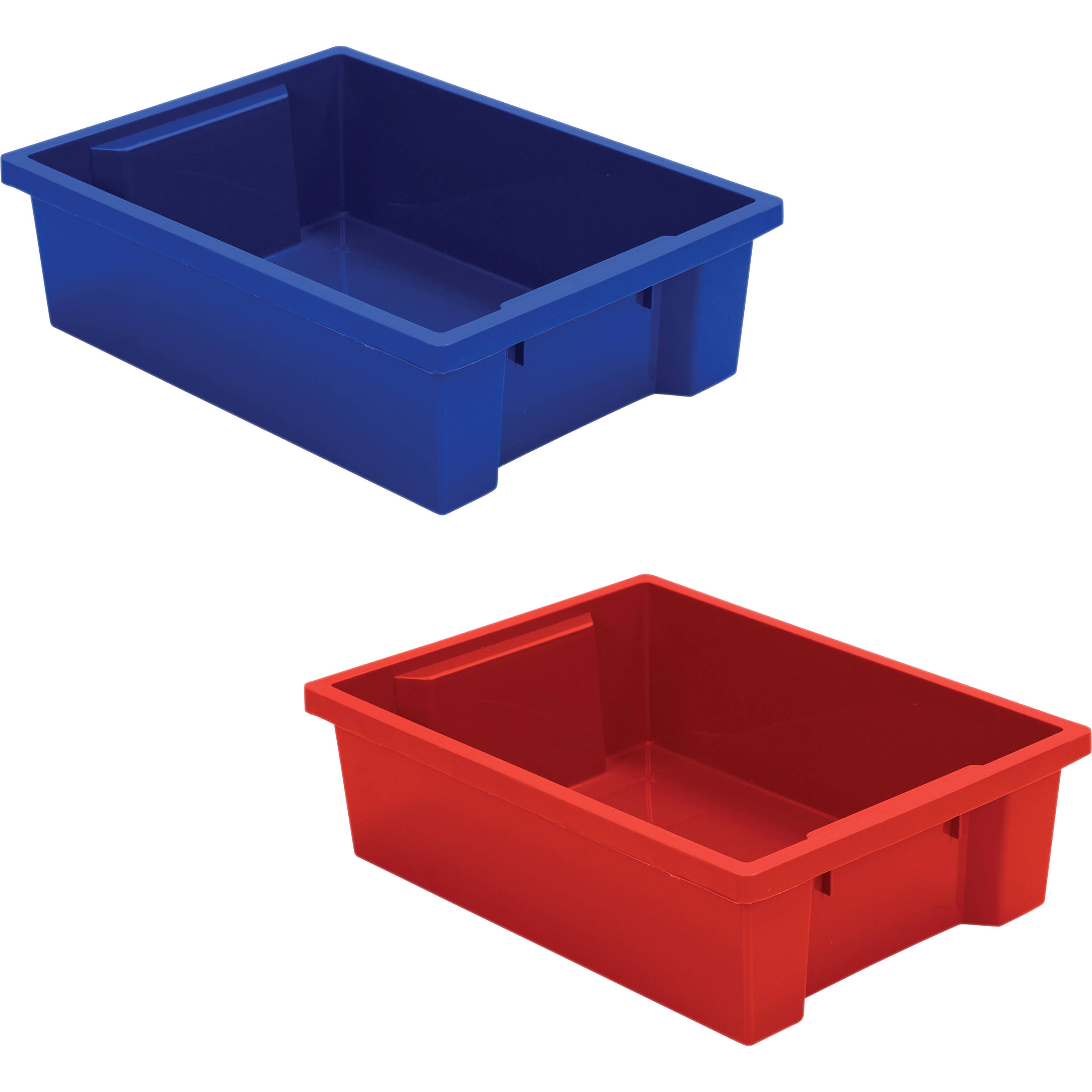 Red tubs