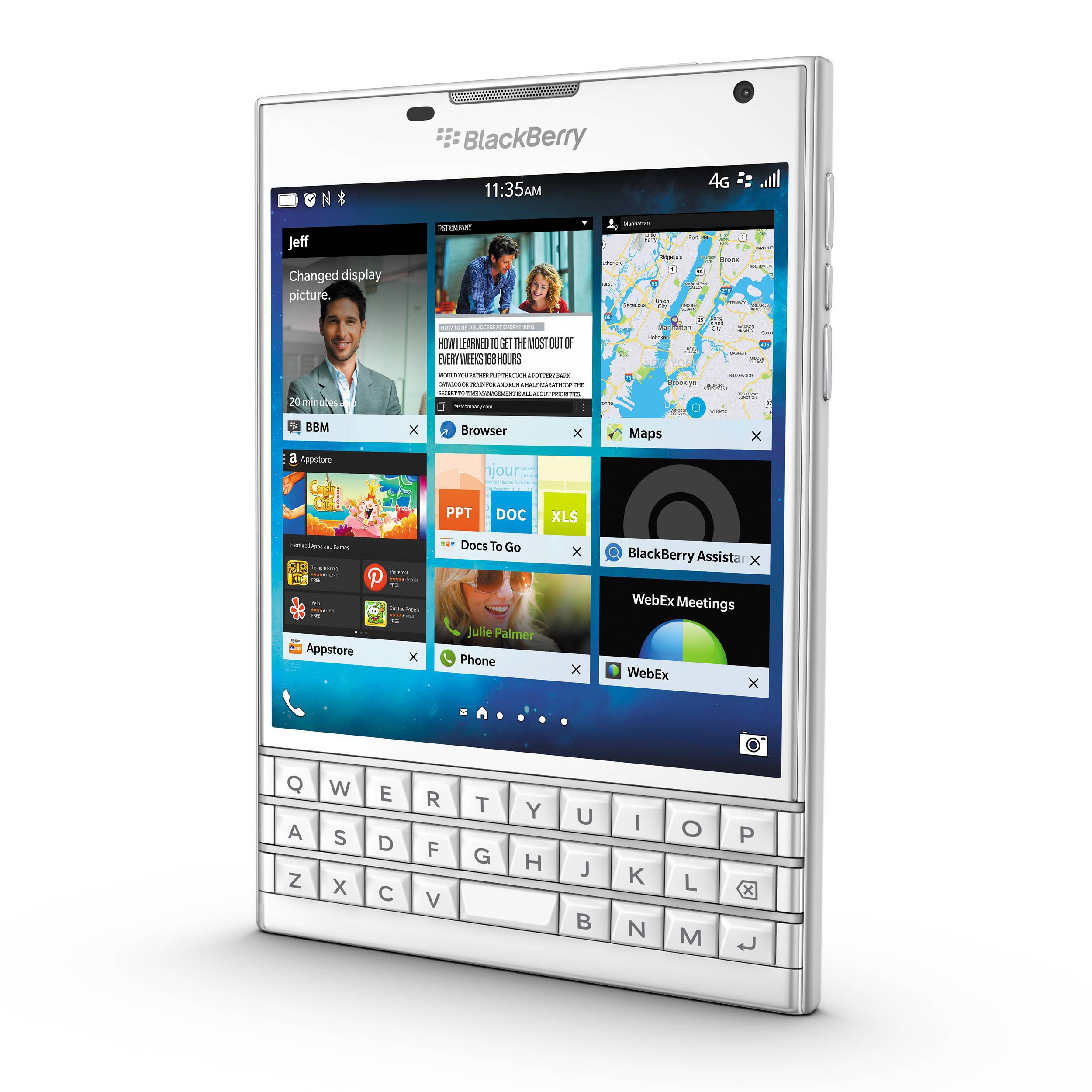 Blackberry passport 32gb smartphone passport white bh photo blackberry passport 32gb smartphone unlocked white reheart Images