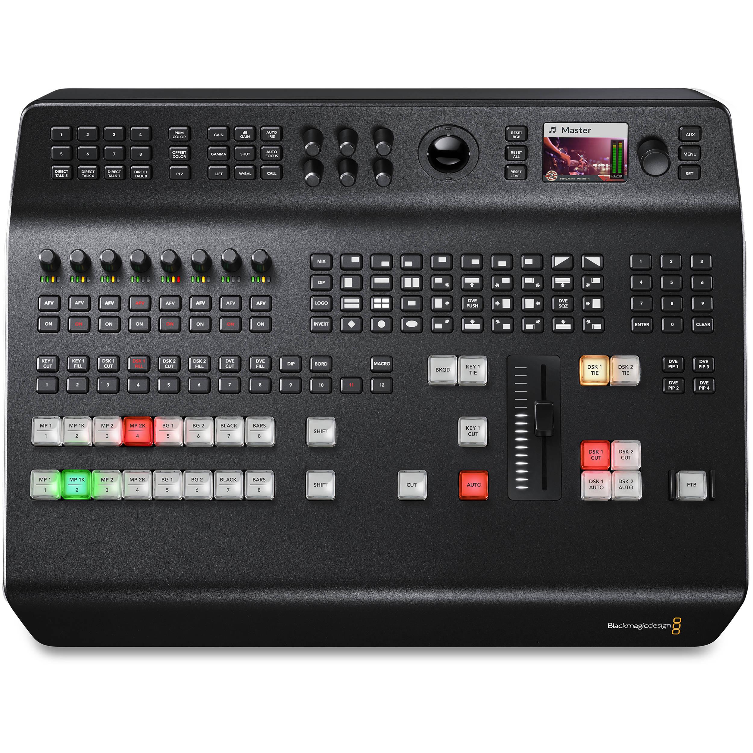 Blackmagic Design Atem Television Studio Production Switcher Price