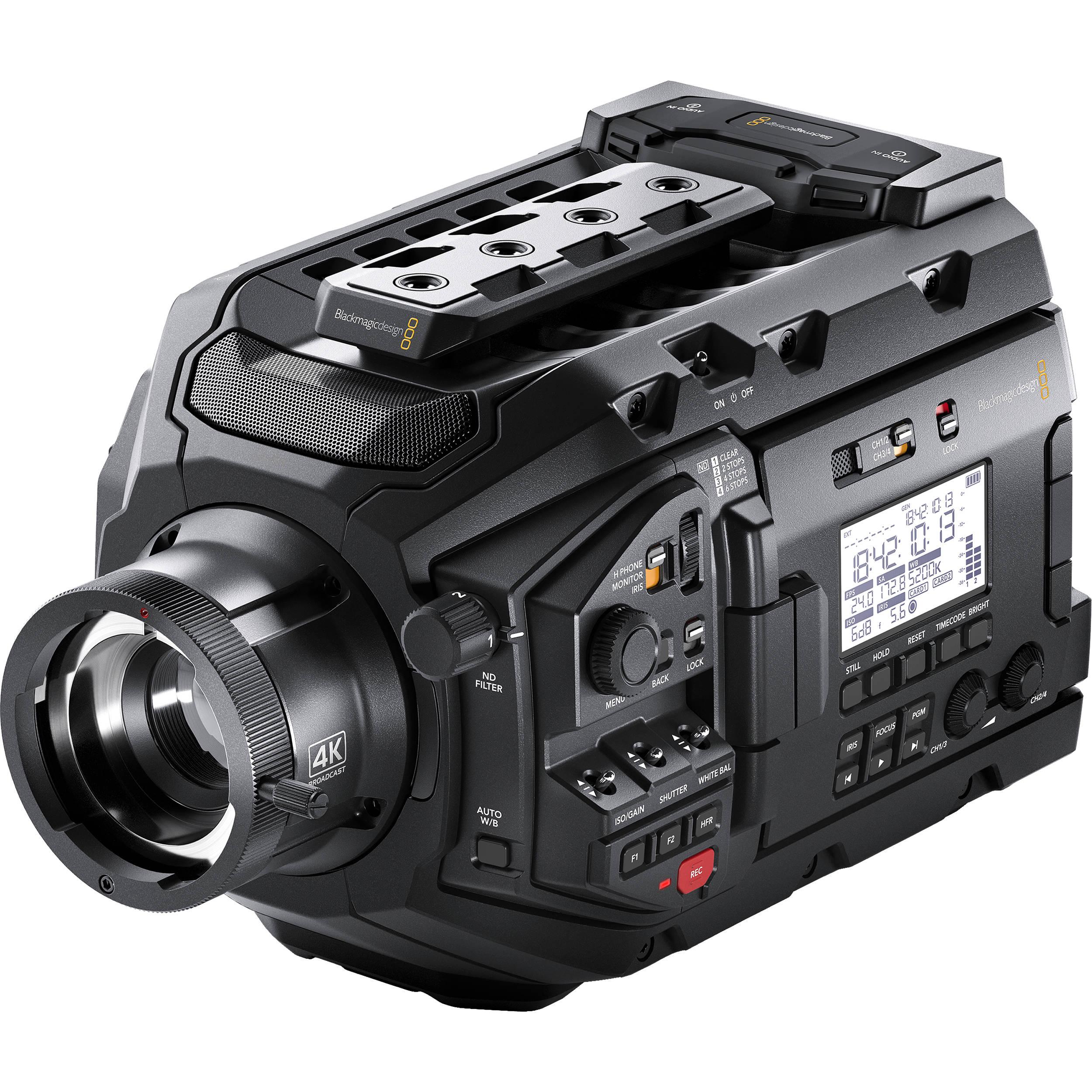 Blackmagic Design URSA Broadcast Camera CINEURSAMWC4K B&H Photo
