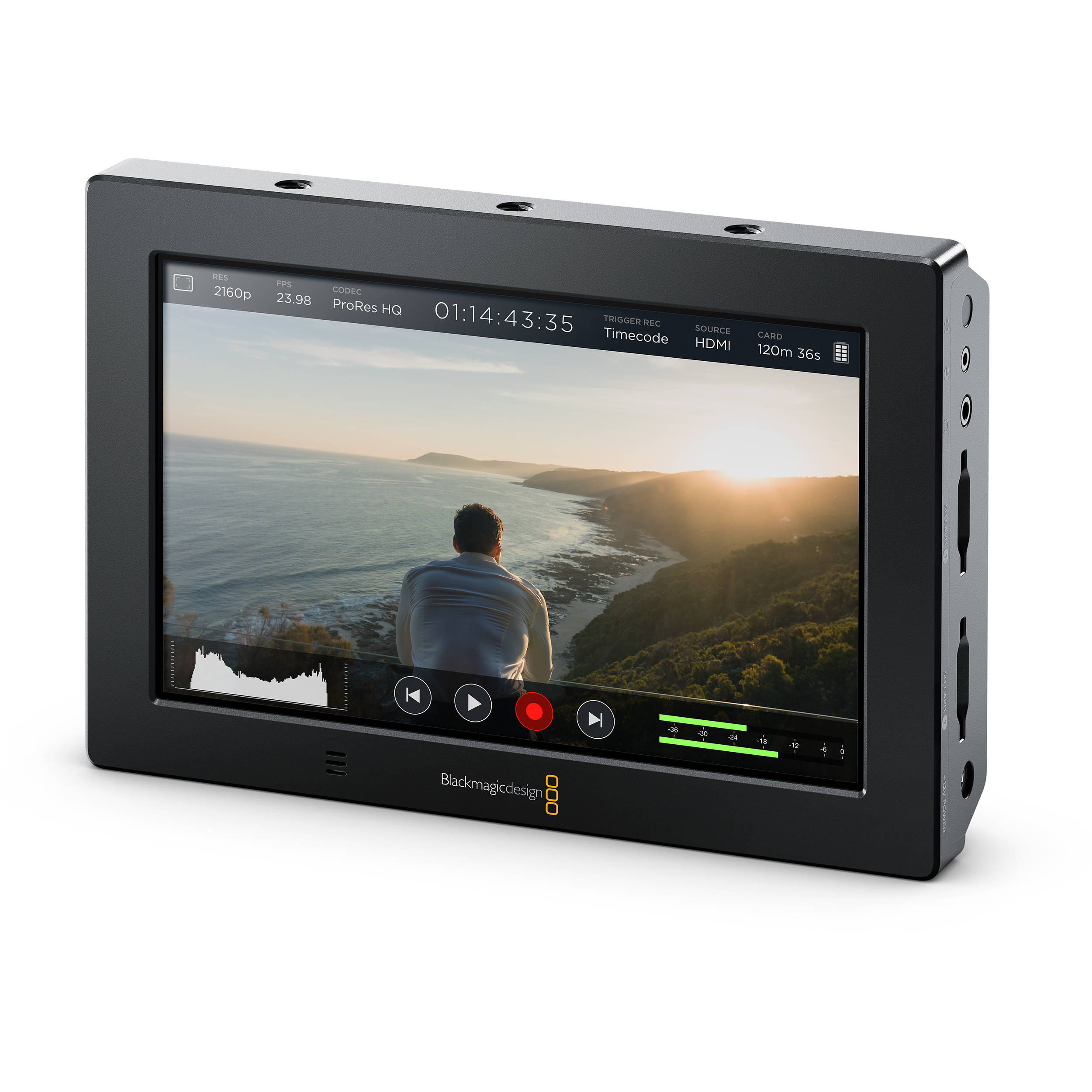 blackmagic video assist  Blackmagic Design Video Assist 4K 7