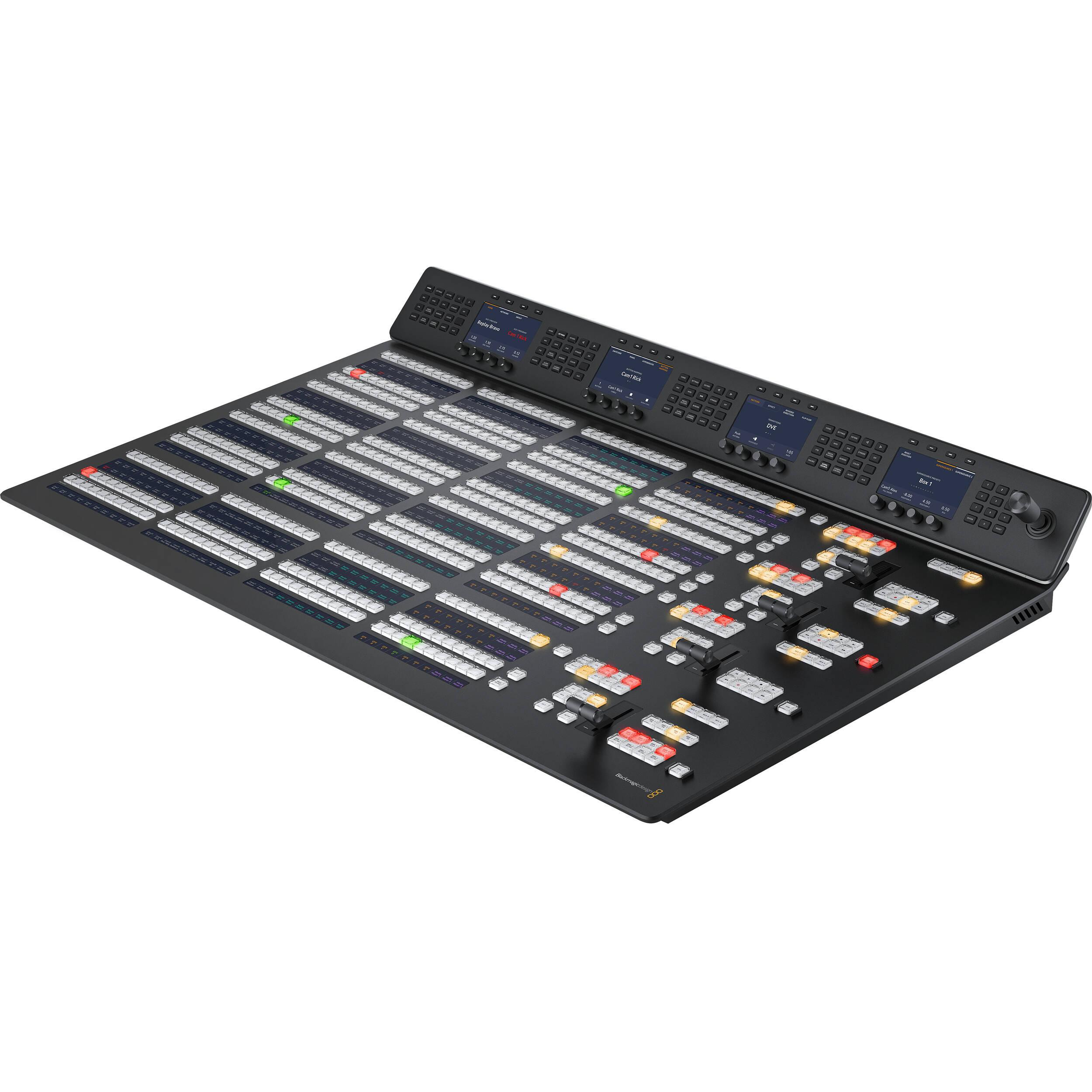 Blackmagic Design Atem 2 M E Advanced Panel Swpaneladv2me B H