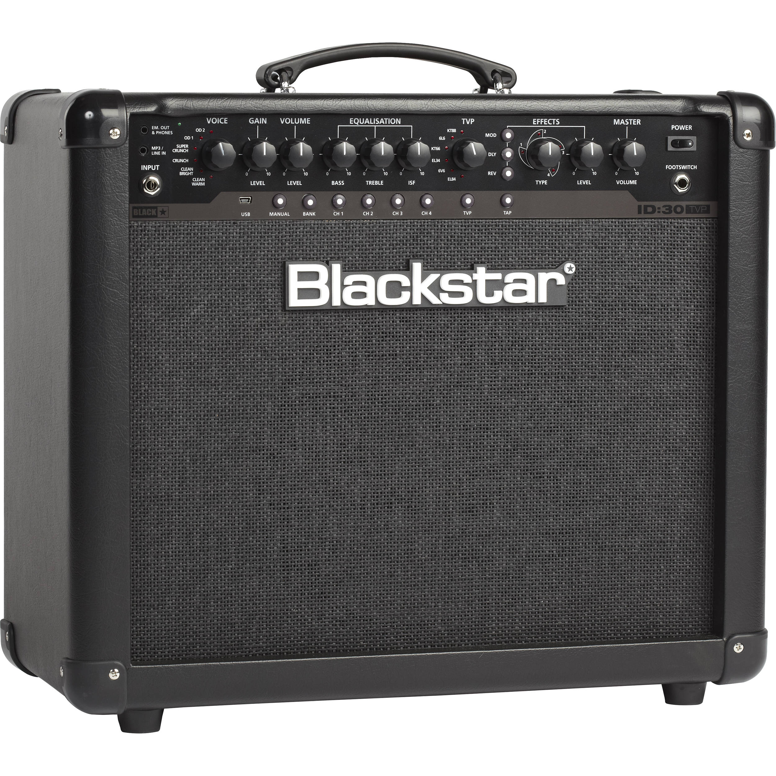 blackstar id 30 tvp 30w programmable combo amplifier. Black Bedroom Furniture Sets. Home Design Ideas