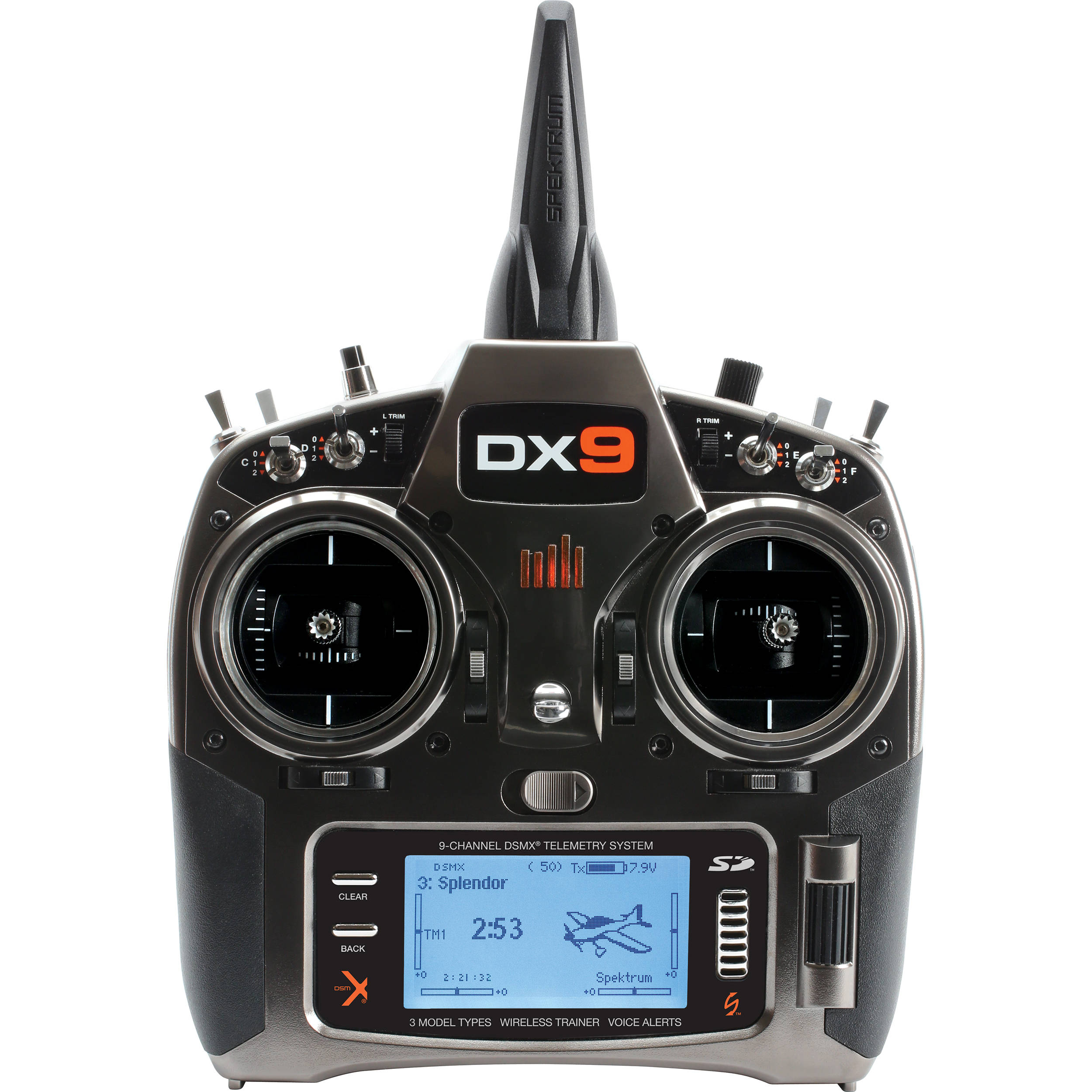 Spektrum Spektrum DX9 9-Channel DSMX Transmitter (TX) SPMR9900