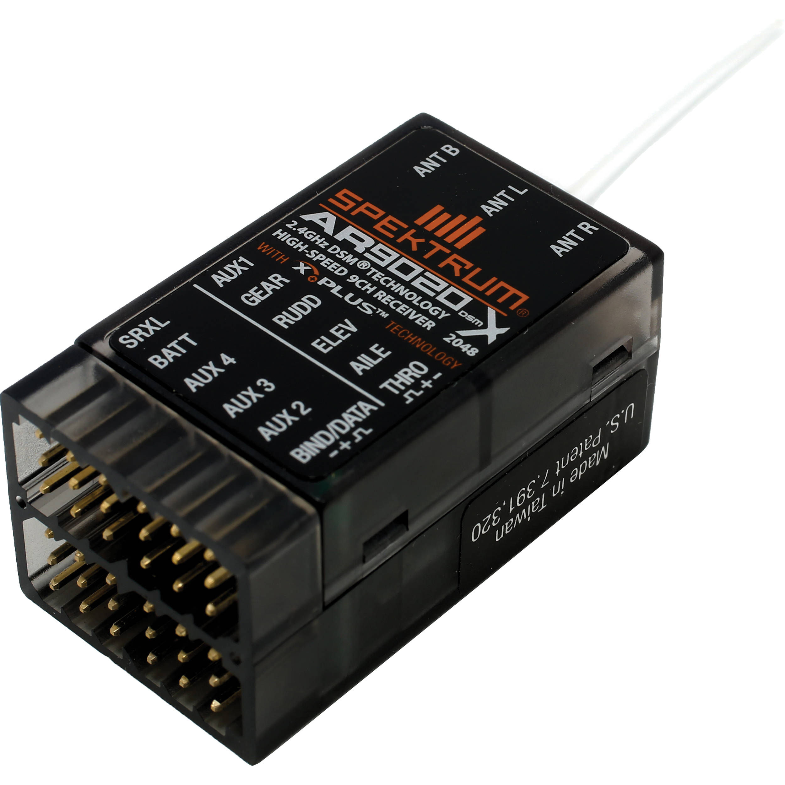 Spektrum AR9020 9-Channel DSMX X-Plus Receiver SPMAR9020 B&H