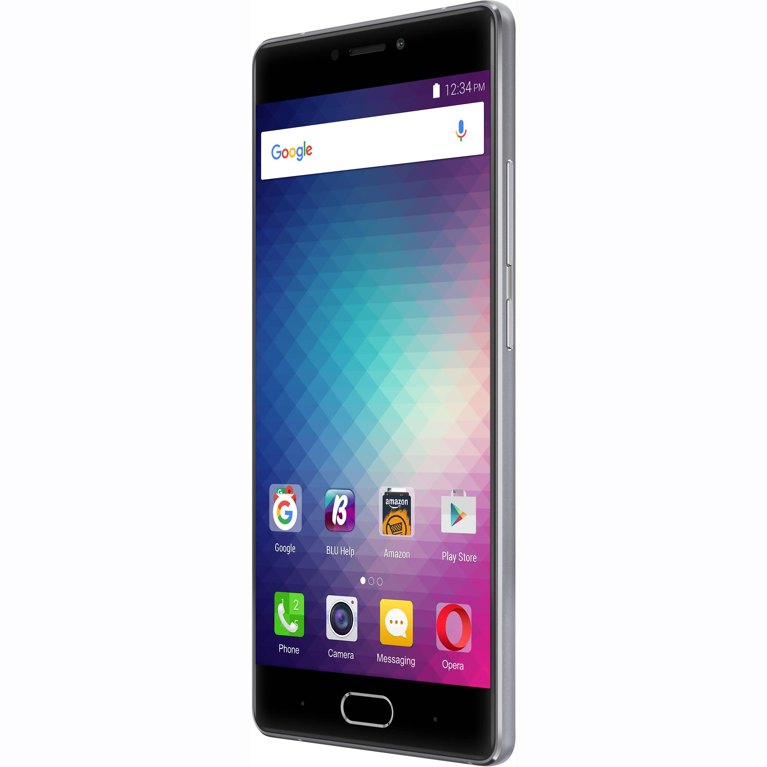 BLU Pure XR P0030UU 64GB Smartphone (Unlocked, Gray) P0030UU