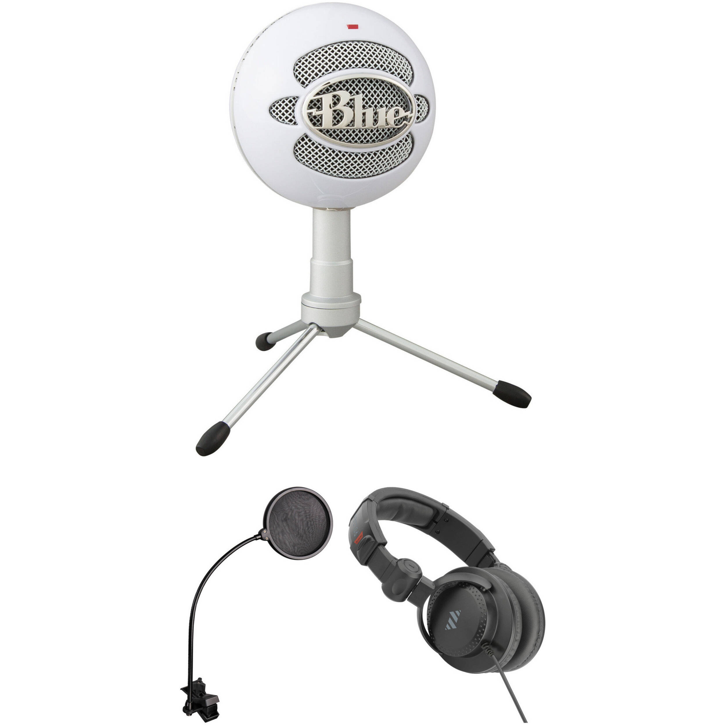 blue snowball ice usb mic and value kit b h photo video. Black Bedroom Furniture Sets. Home Design Ideas