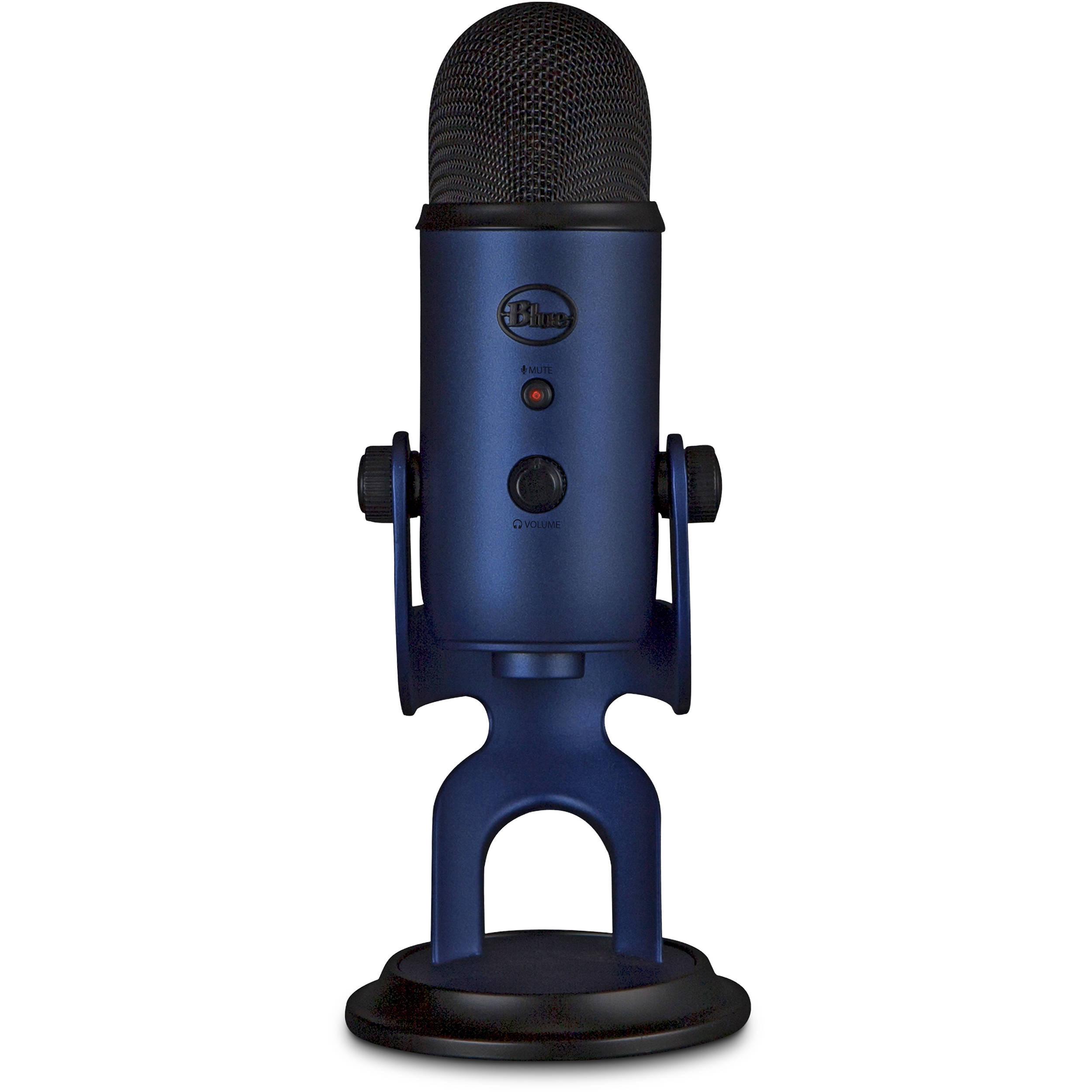 Blue Yeti USB Microphone (Midnight Blue) 988-000101 B&H Photo