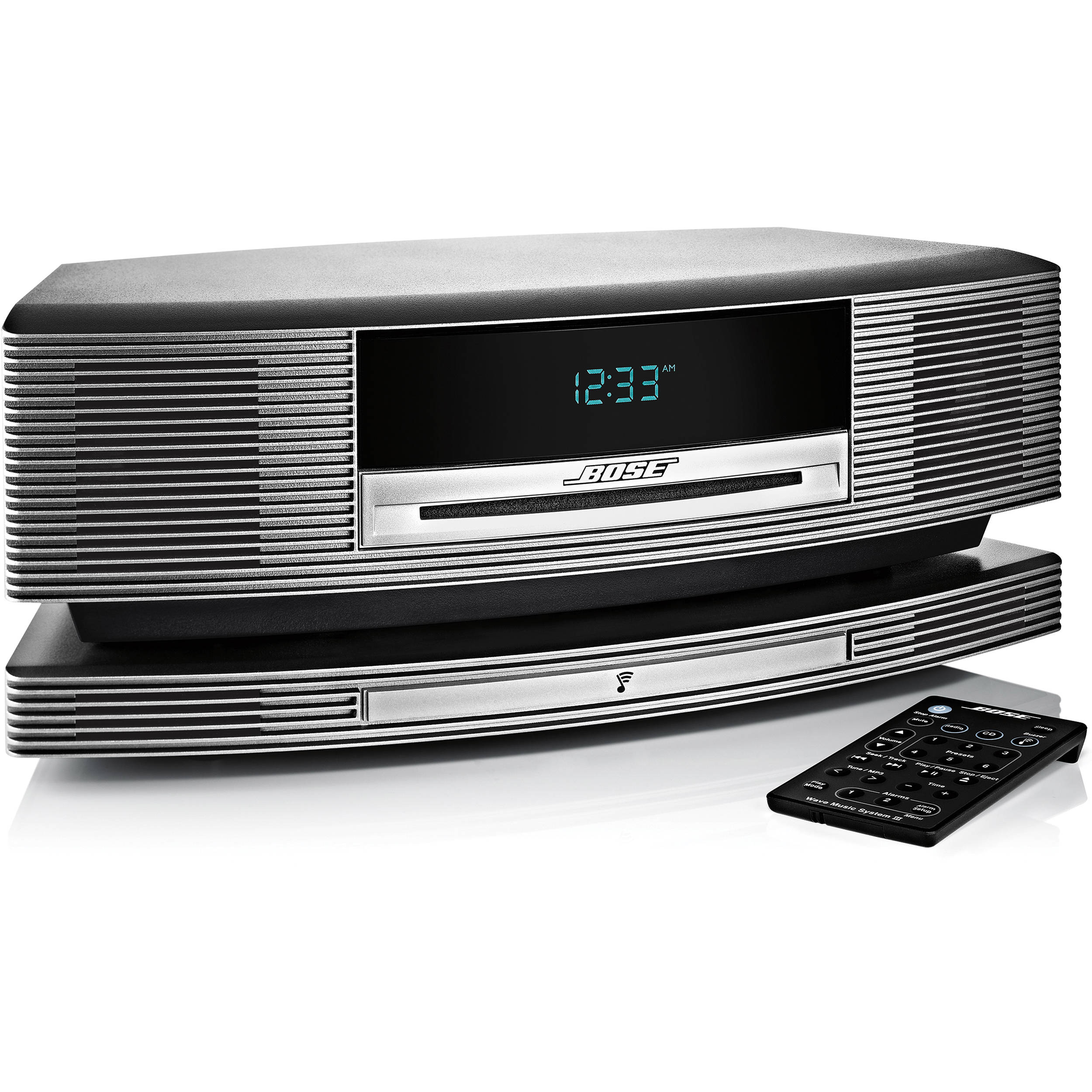 bose wave soundtouch music system titanium silver 369754. Black Bedroom Furniture Sets. Home Design Ideas