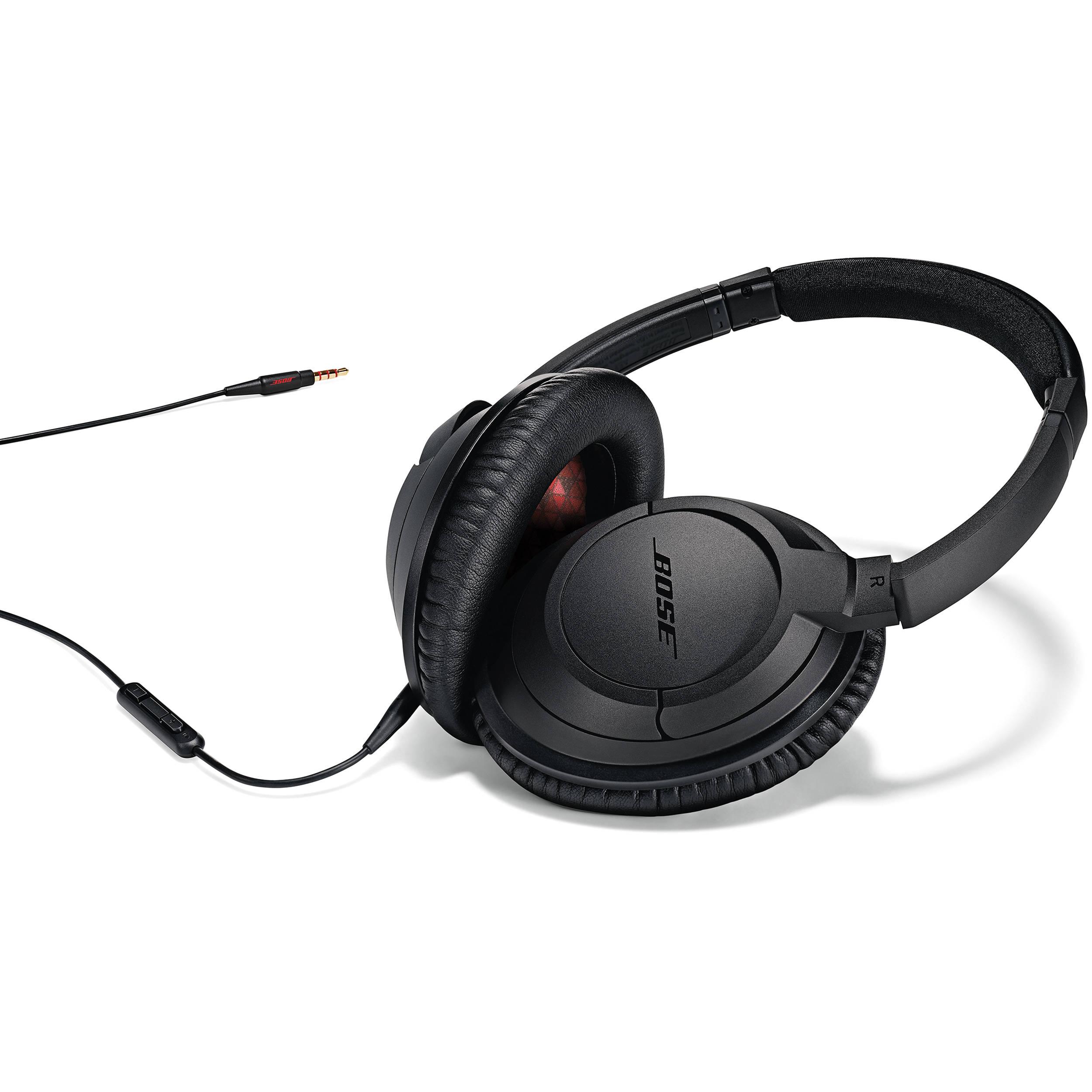 40faa61865c Bose SoundTrue Around-Ear Headphones (Black) 626238-0010 B&H