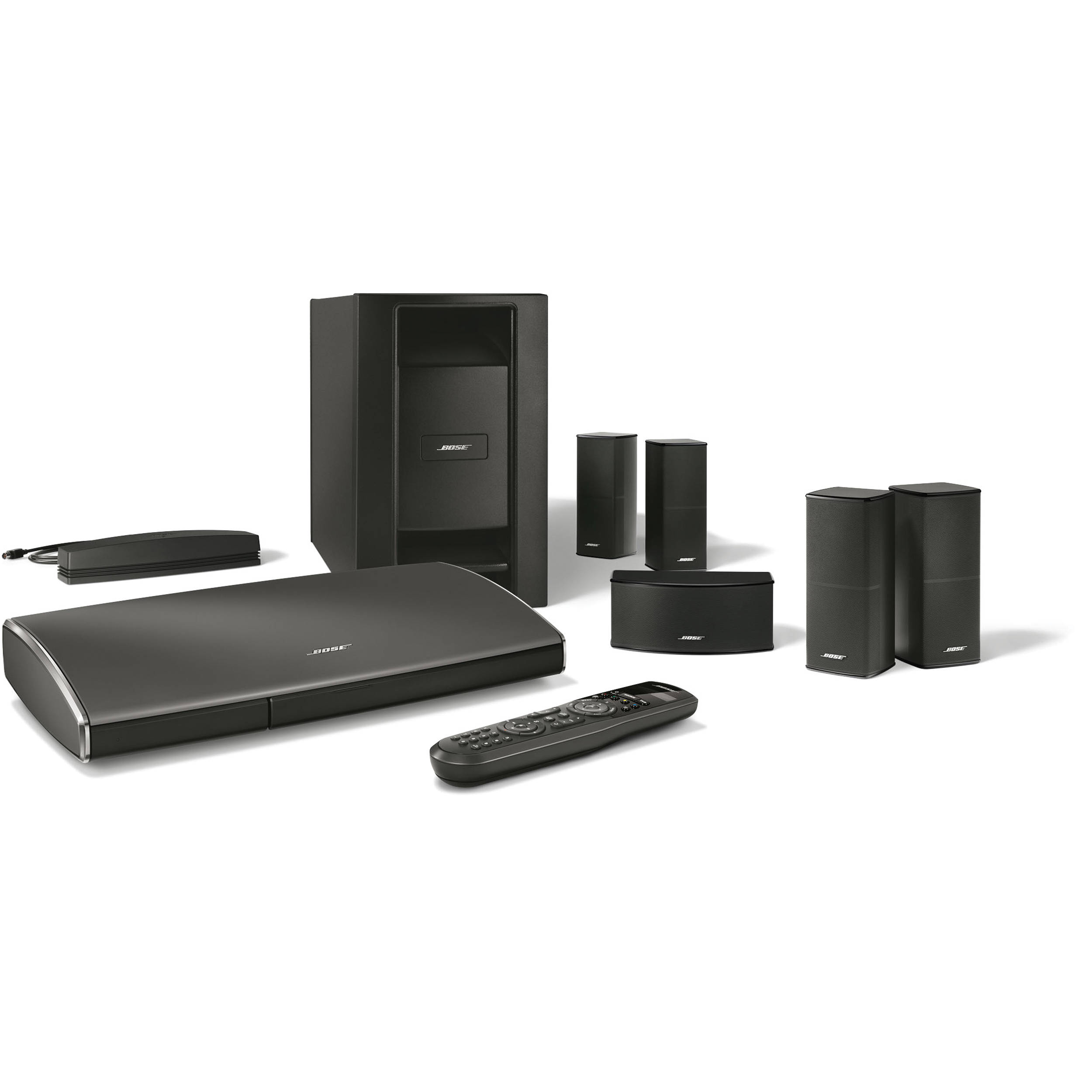 bose lifestyle 535 series iii home theater system 715604 1100. Black Bedroom Furniture Sets. Home Design Ideas