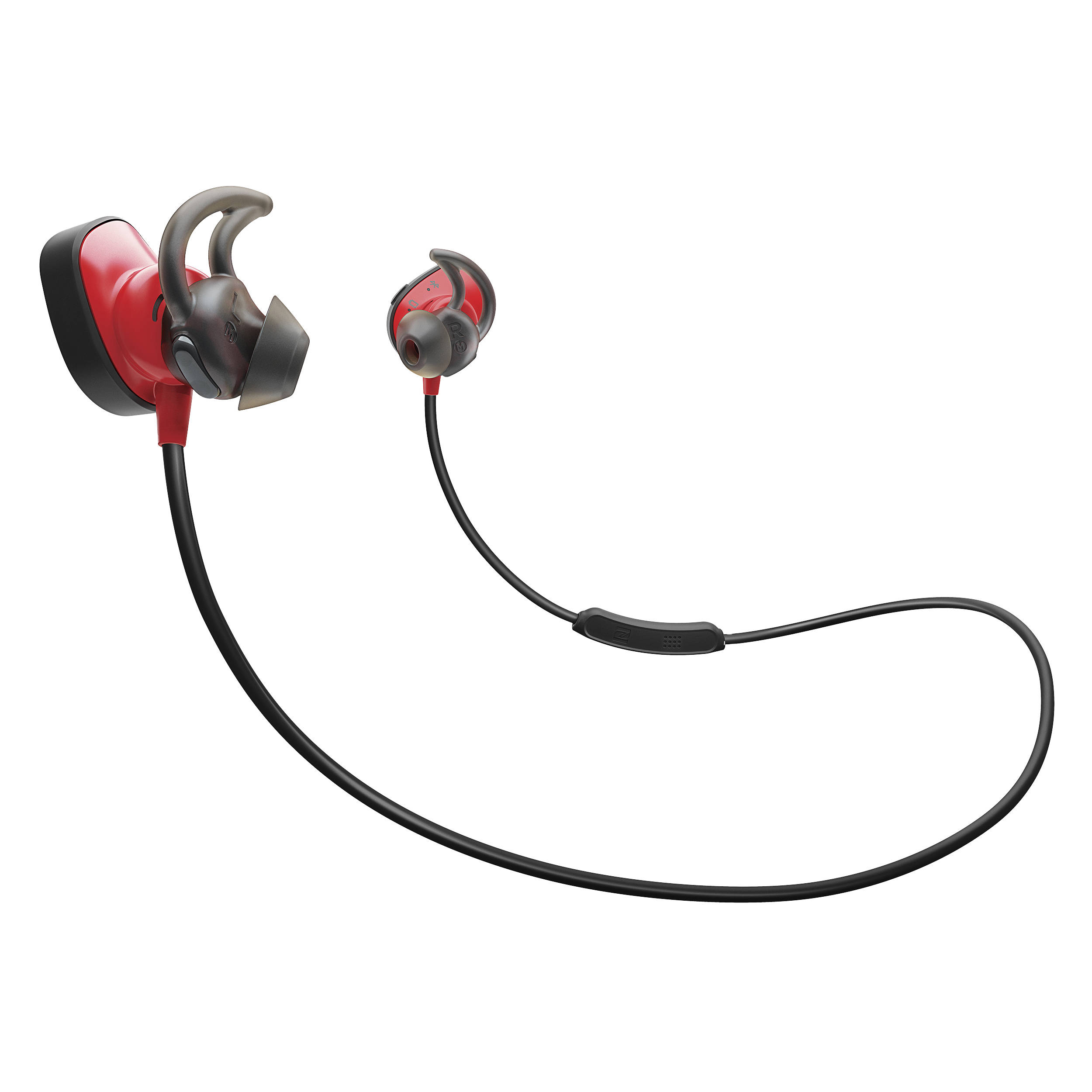 bose 774373 0010. bose soundsport pulse wireless in-ear headphones (red) 774373 0010