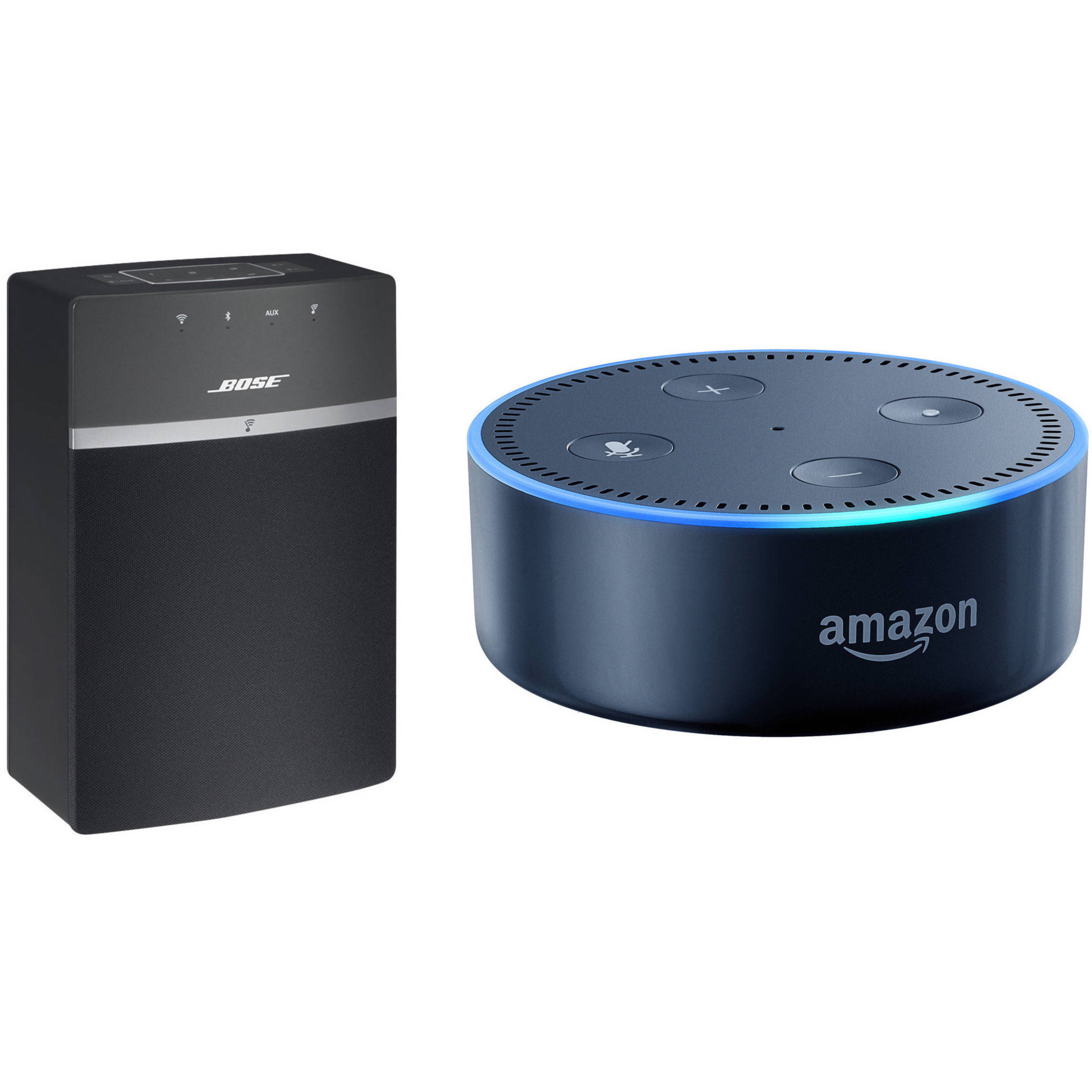 bose soundtouch 10 wireless music system and amazon echo. Black Bedroom Furniture Sets. Home Design Ideas