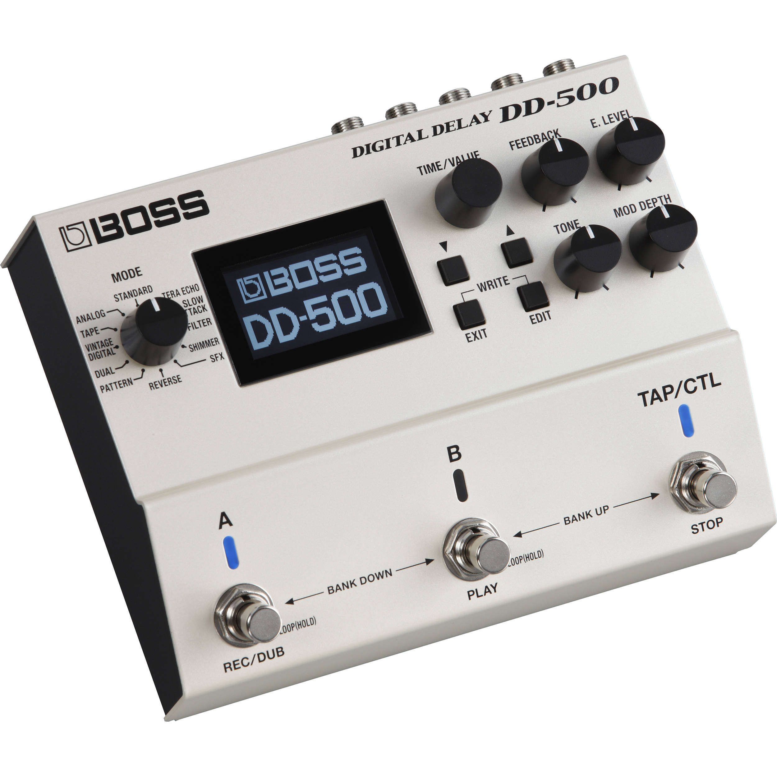 Boss Dd 500 Digital Delay Pedal Dd 500 B Amp H Photo Video