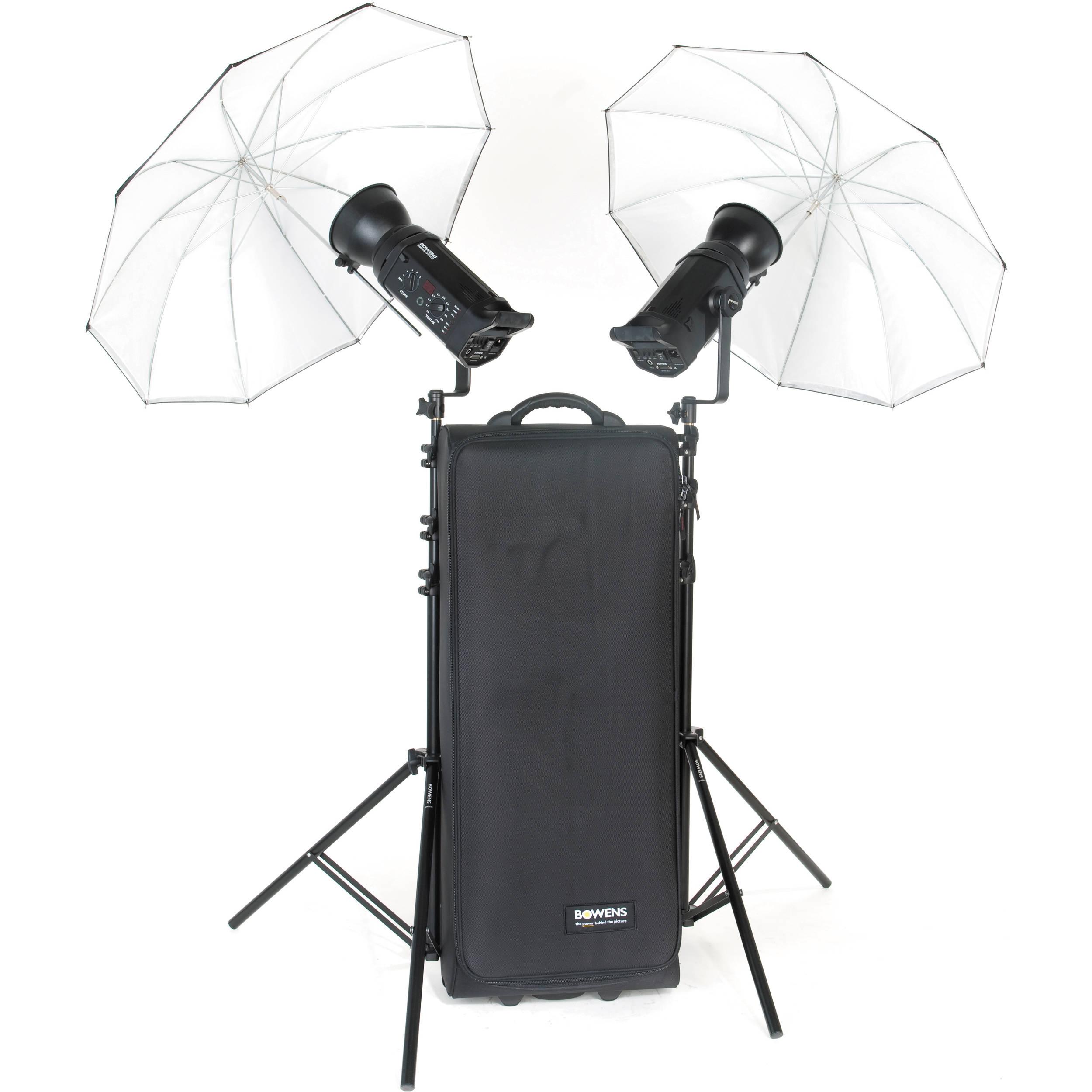 Bowens Esprit 500 Studio Lighting Kit: Bowens Gemini 500R PW 2-Light Kit BW-4805USDAP B&H Photo Video