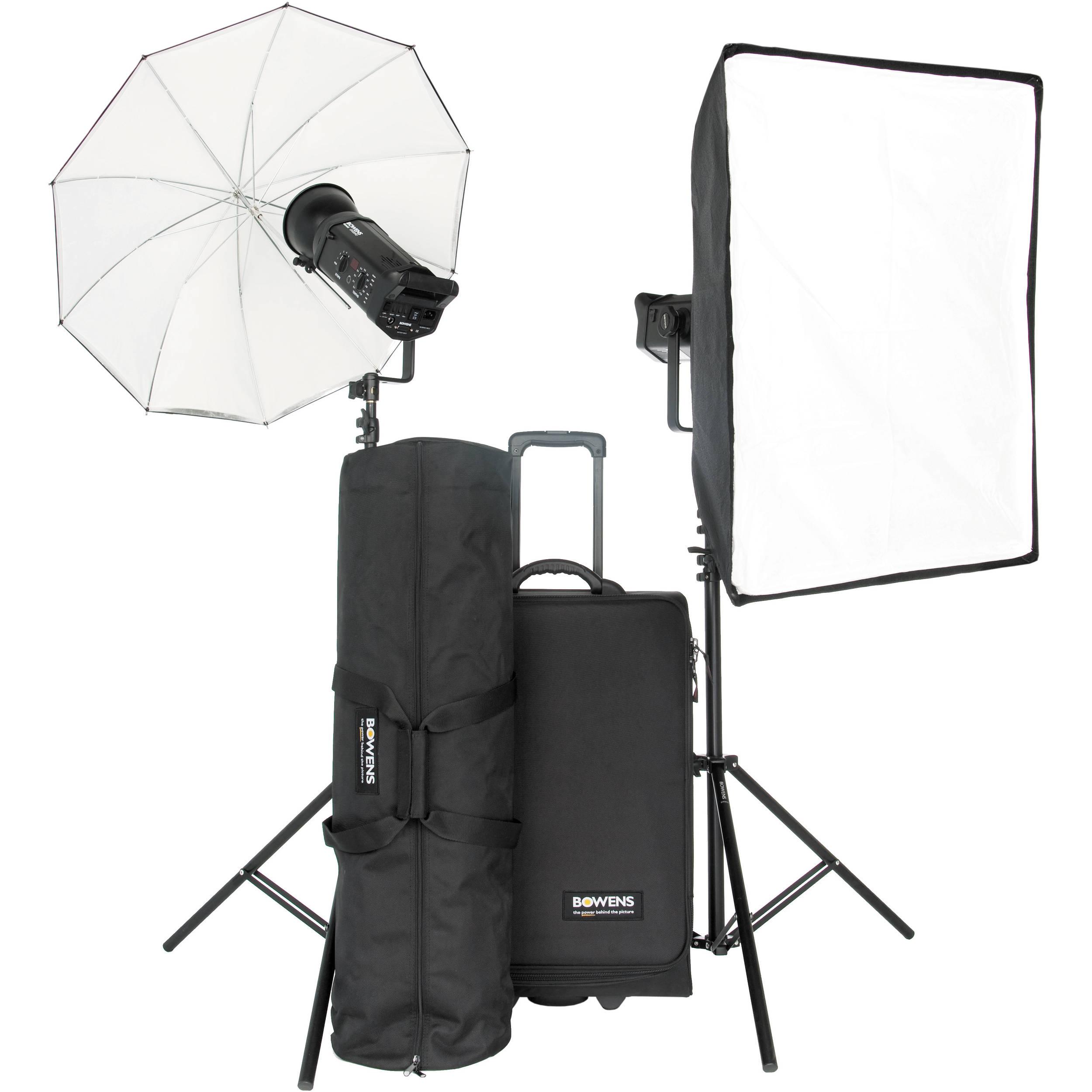 Bowens Esprit 500 Studio Lighting Kit: Bowens Gemini 500Pro 2-Light Kit BW-8610USP B&H Photo Video