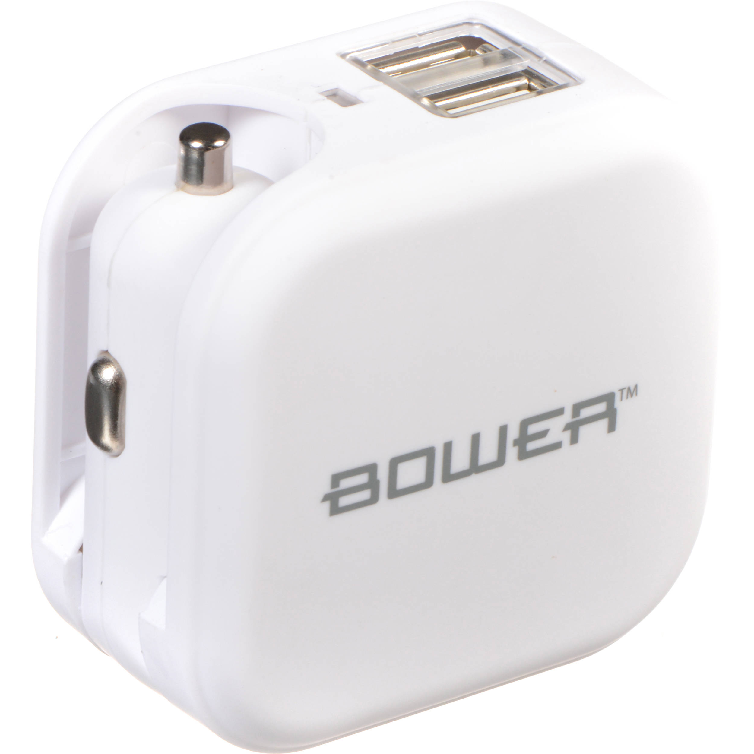 Bower Usb Wall And Car Charger White