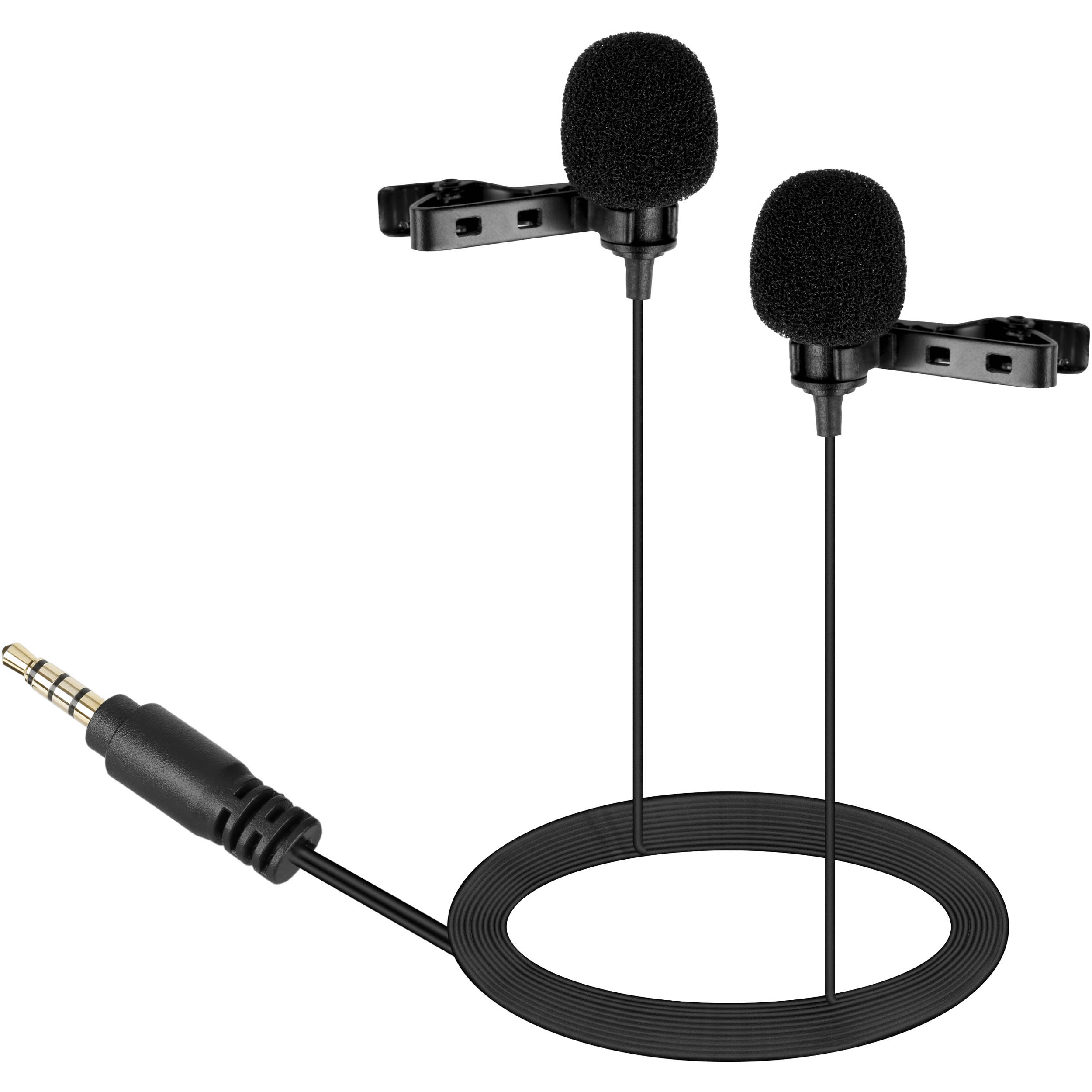 Boya By Lm400 Dual Lavalier Microphone For Mobile Devices