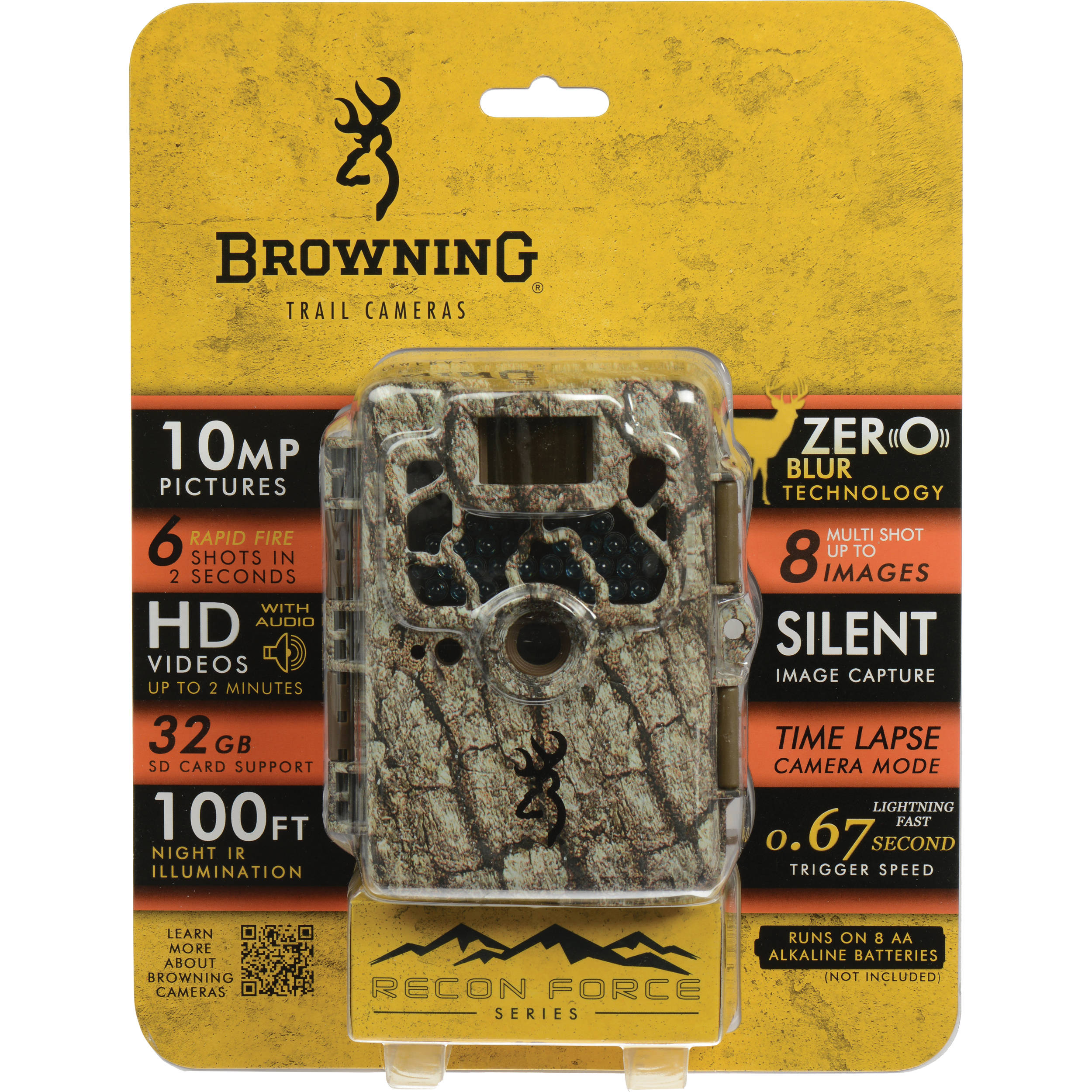 Browning Recon Force XR Series Trail Camera (Camo) BTC 2XR B&H