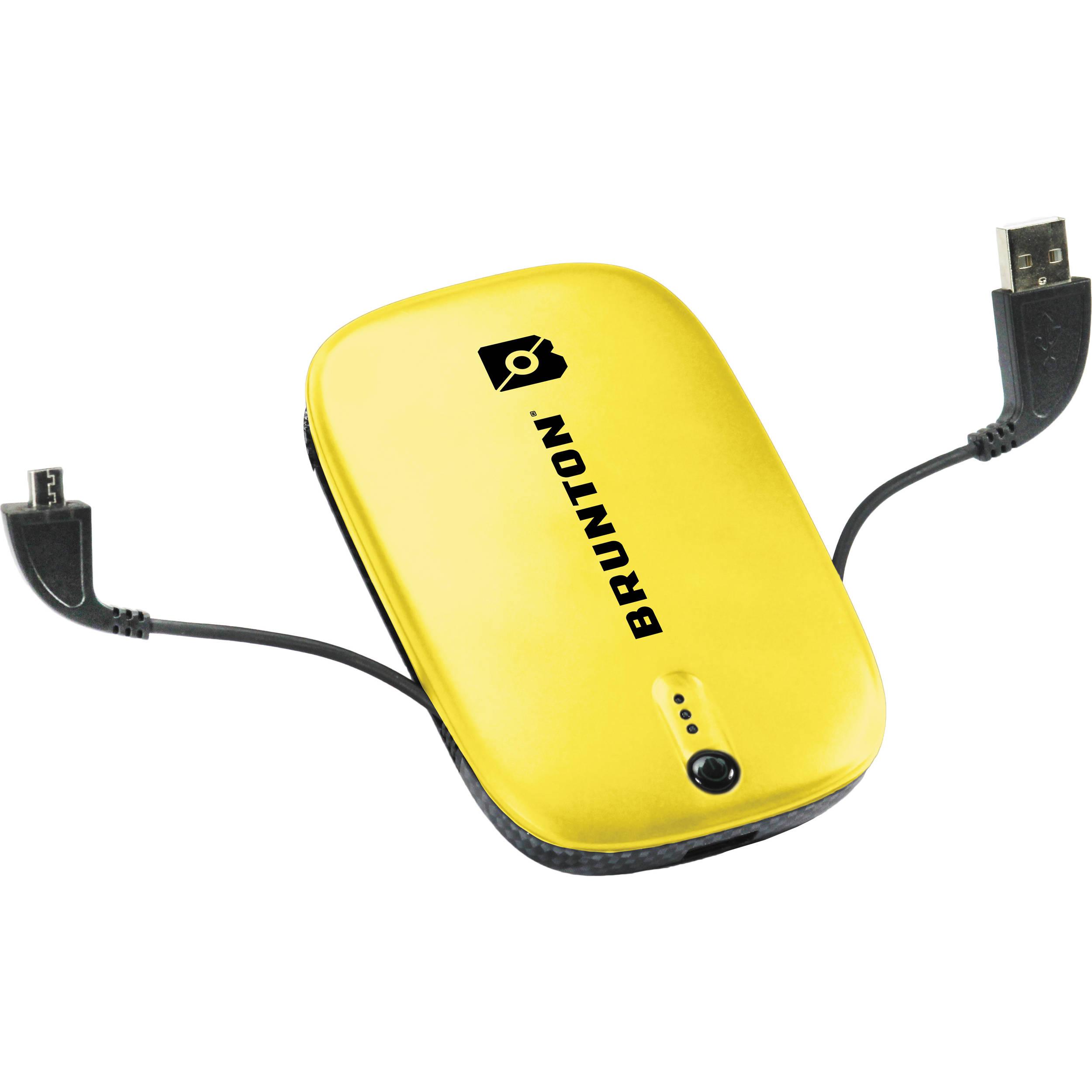 Brunton Heavy Metal 5500 Rechargeable Battery Pack (Yellow)