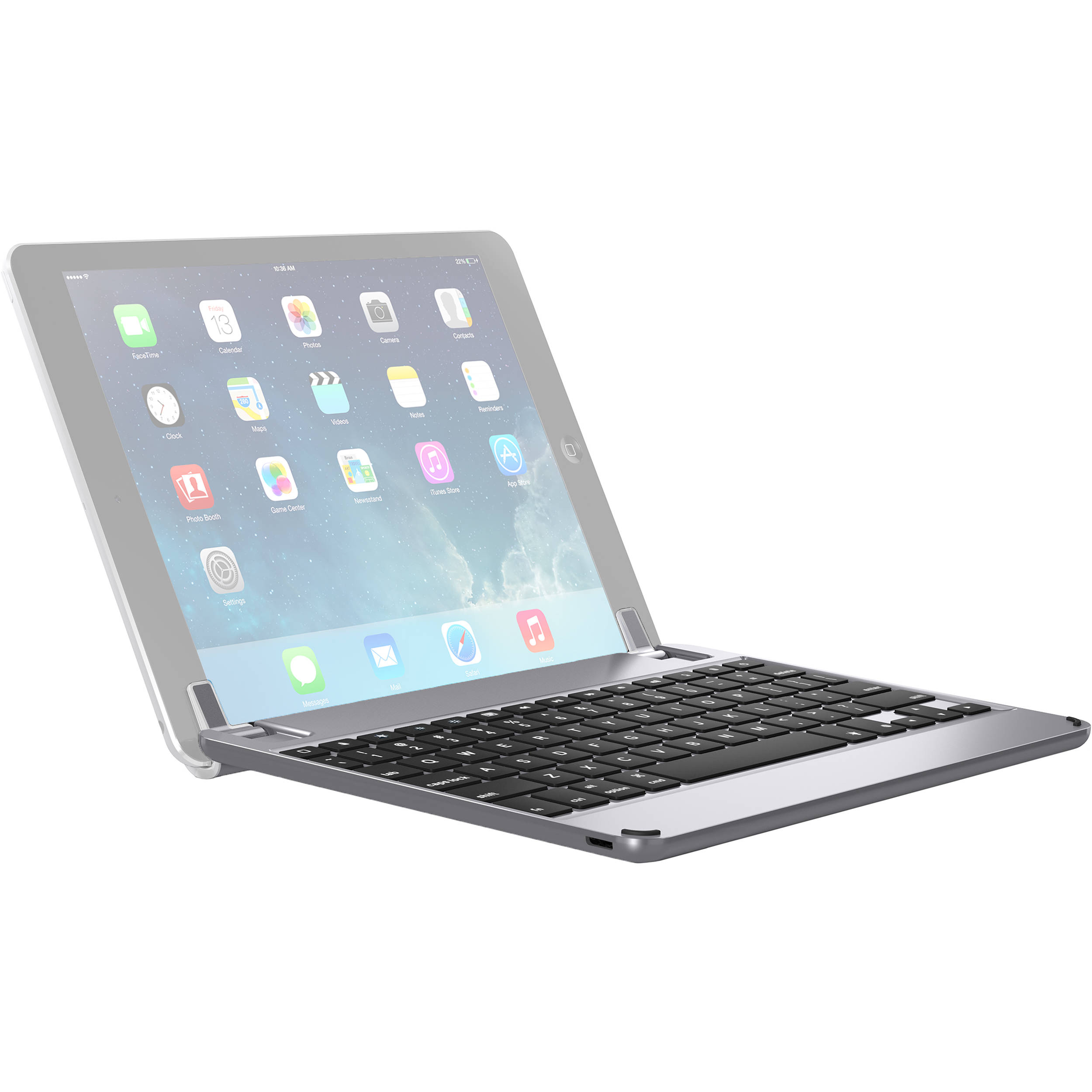 3bb357b155e Brydge 9.7 Bluetooth Keyboard for iPad Air 1/2, Pro BRY1012 B&H