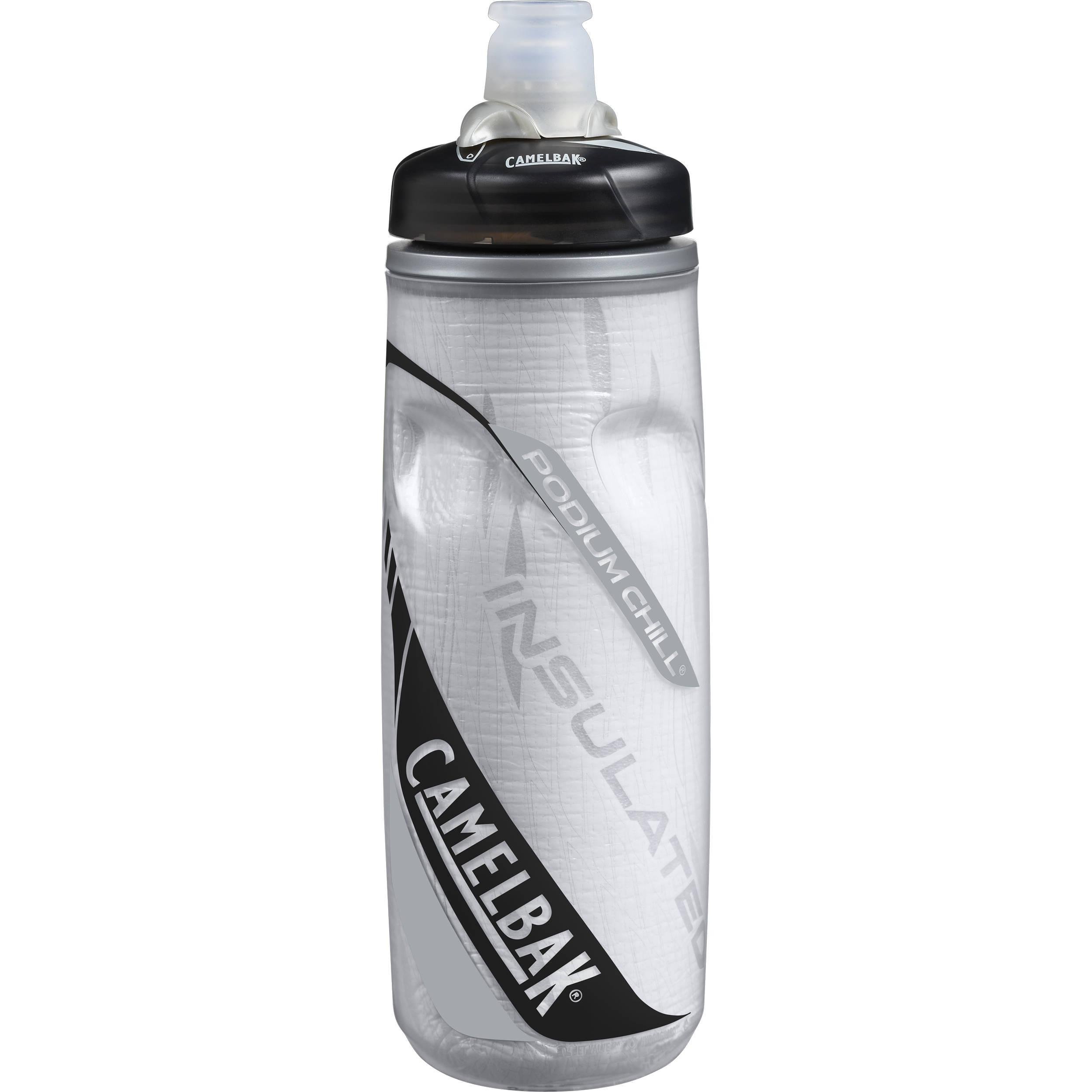 CAMELBAK Podium Chill 21oz Sport Water Bottle (Carbon ...