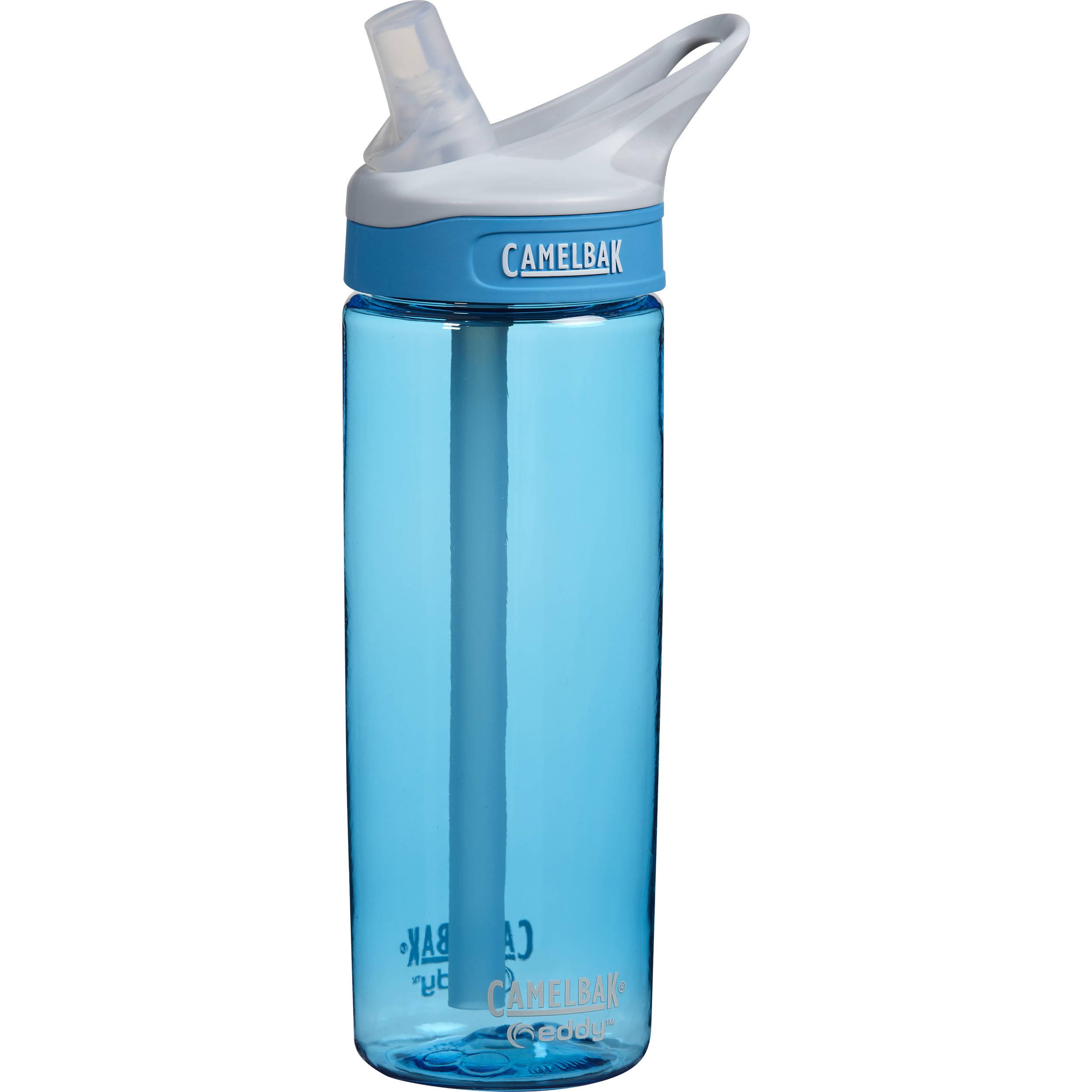 CAMELBAK eddy Water Bottle (20 fl oz, Rain) 53635 B&H Photo