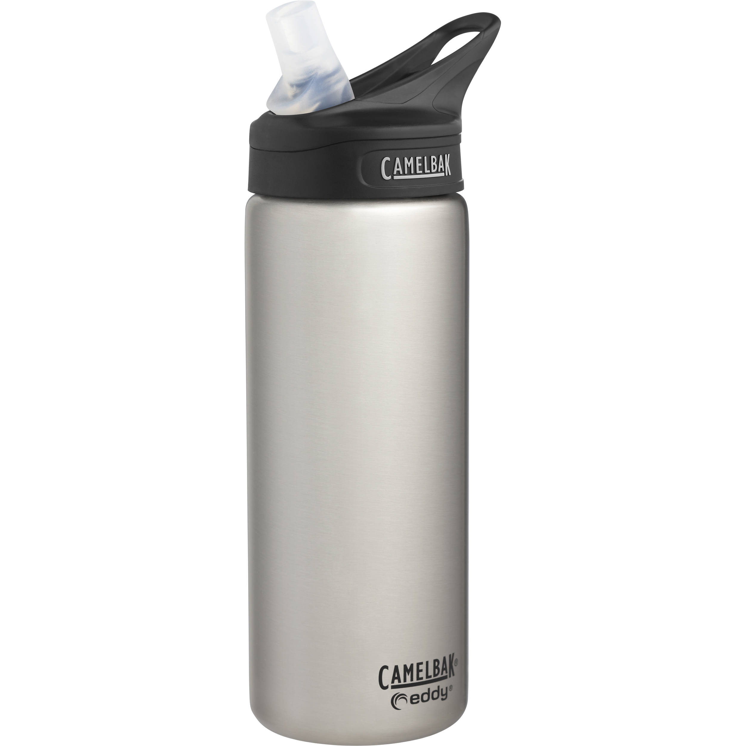 a65d7e3b63 CAMELBAK eddy Vacuum-Insulated Stainless Steel Water Bottle (20 fl oz,  Stainless)