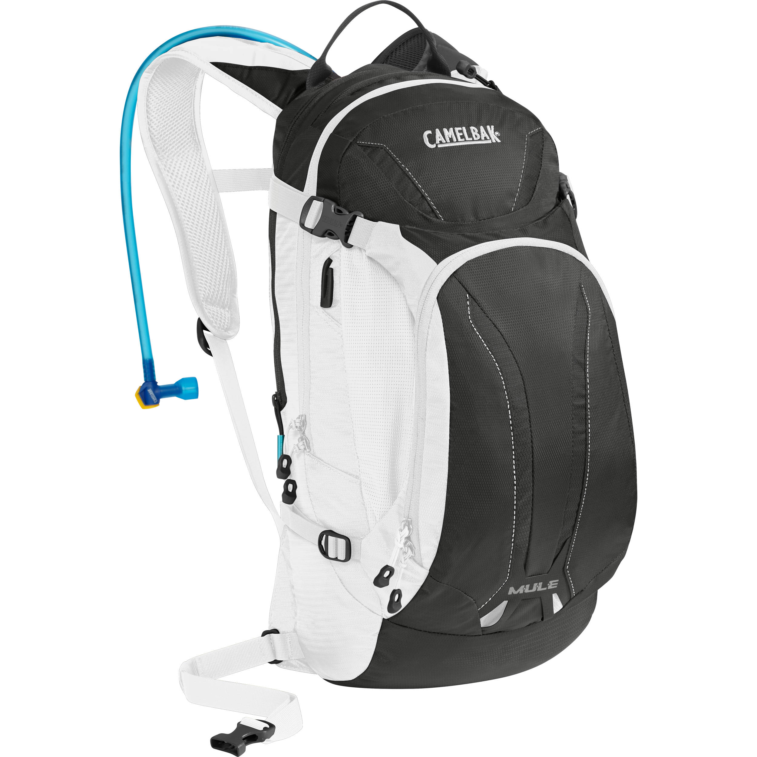 b1c9b5b5672 CAMELBAK M.U.L.E. 9L Hydration Bike Pack with 3L Reservoir (Charcoal/White)
