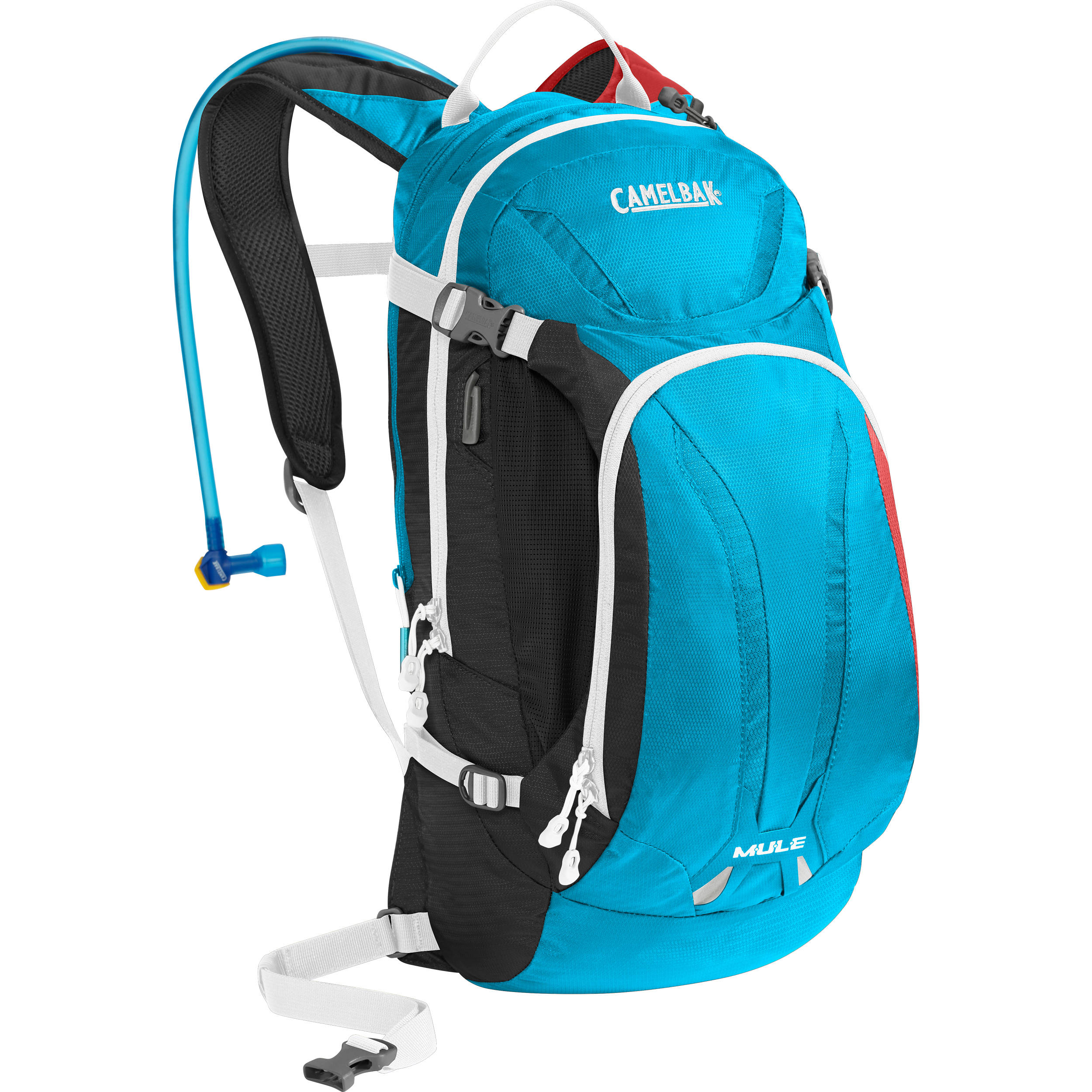 b070be18e16 CAMELBAK M.U.L.E. 9L Hydration Bike Pack with 3L Reservoir  (Charcoal/Atomic/Barbados)