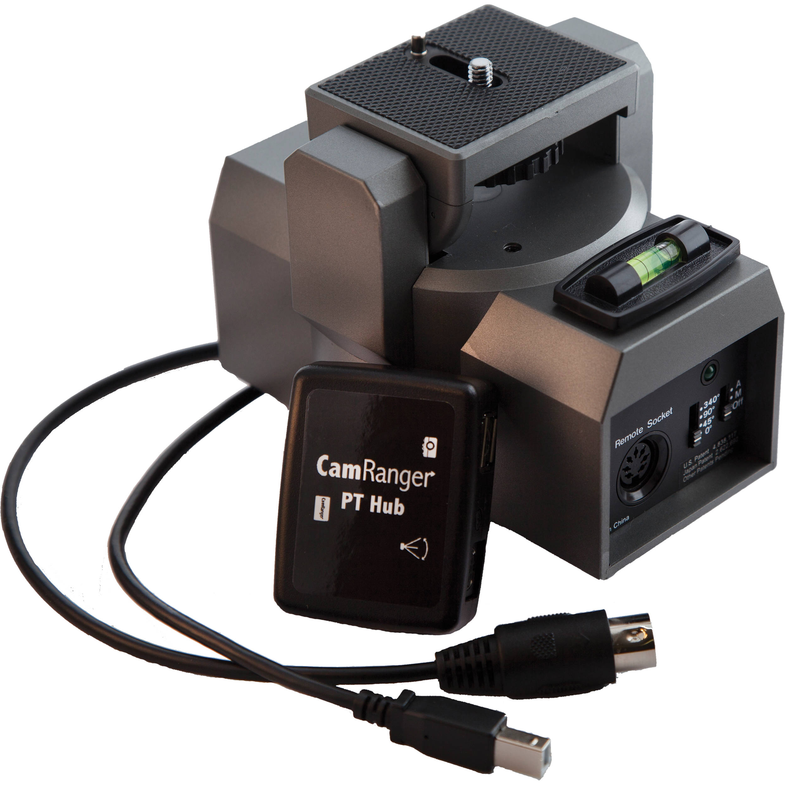 Camranger pt hub and mp 360 pan tilt head 1006 b h photo video for Pan and tilt head motorized