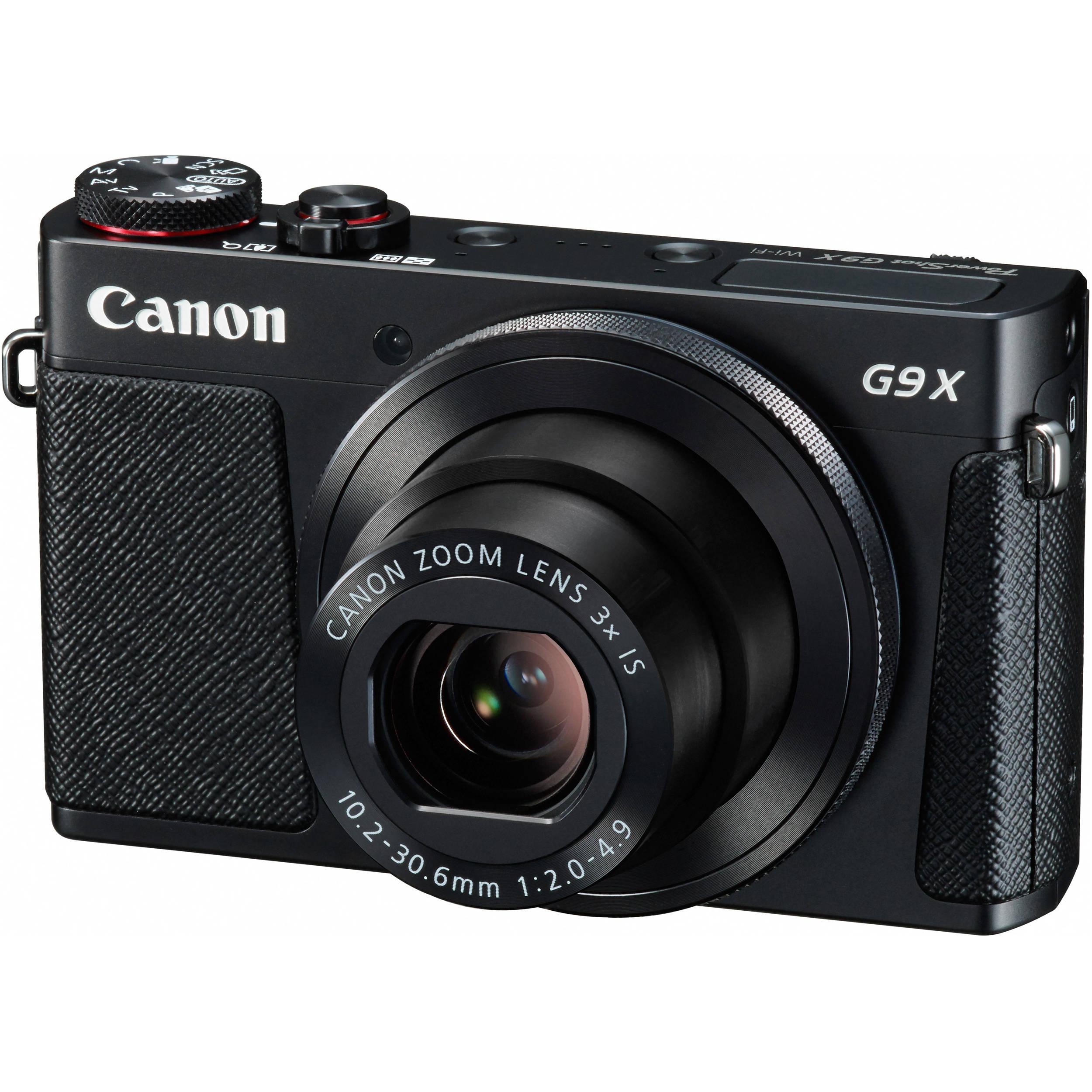 Canon PowerShot G9 X Digital Camera (Black) 0511C001 B&H Photo