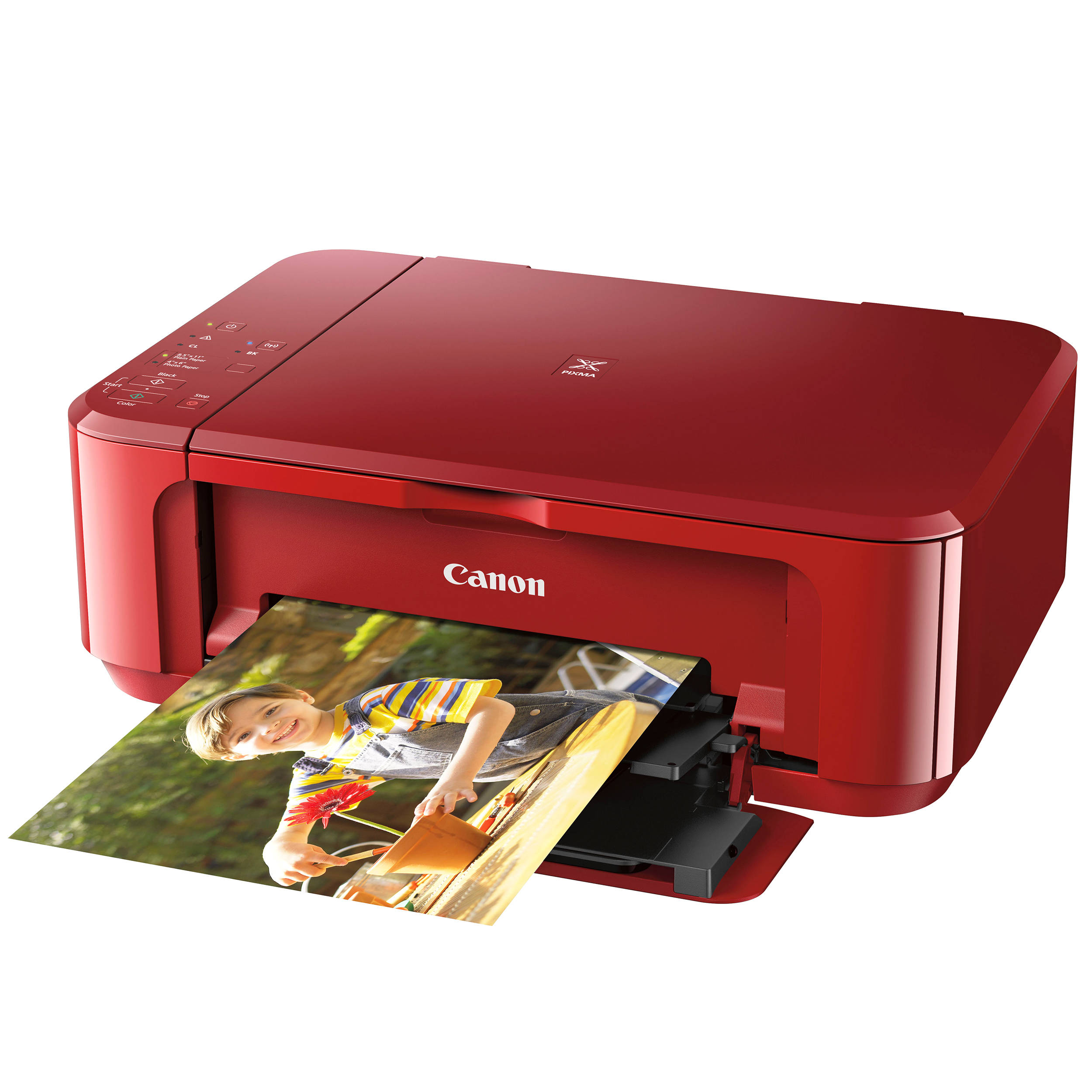 Canon PIXMA MG3620 Wireless All In One Inkjet Printer Red