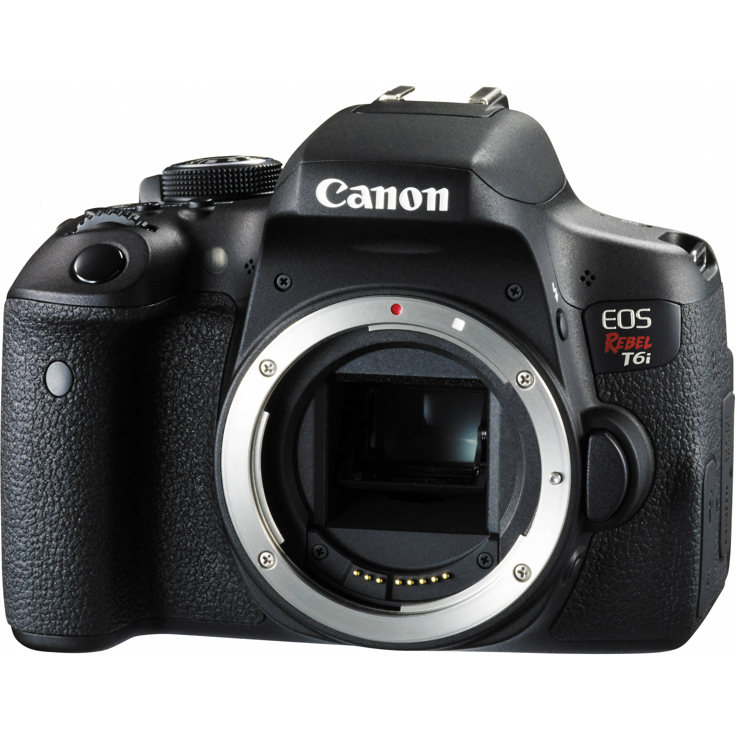 Camera Semi Dslr Cameras canon eos rebel t6i dslr camera body only 0591c001 bh photo only