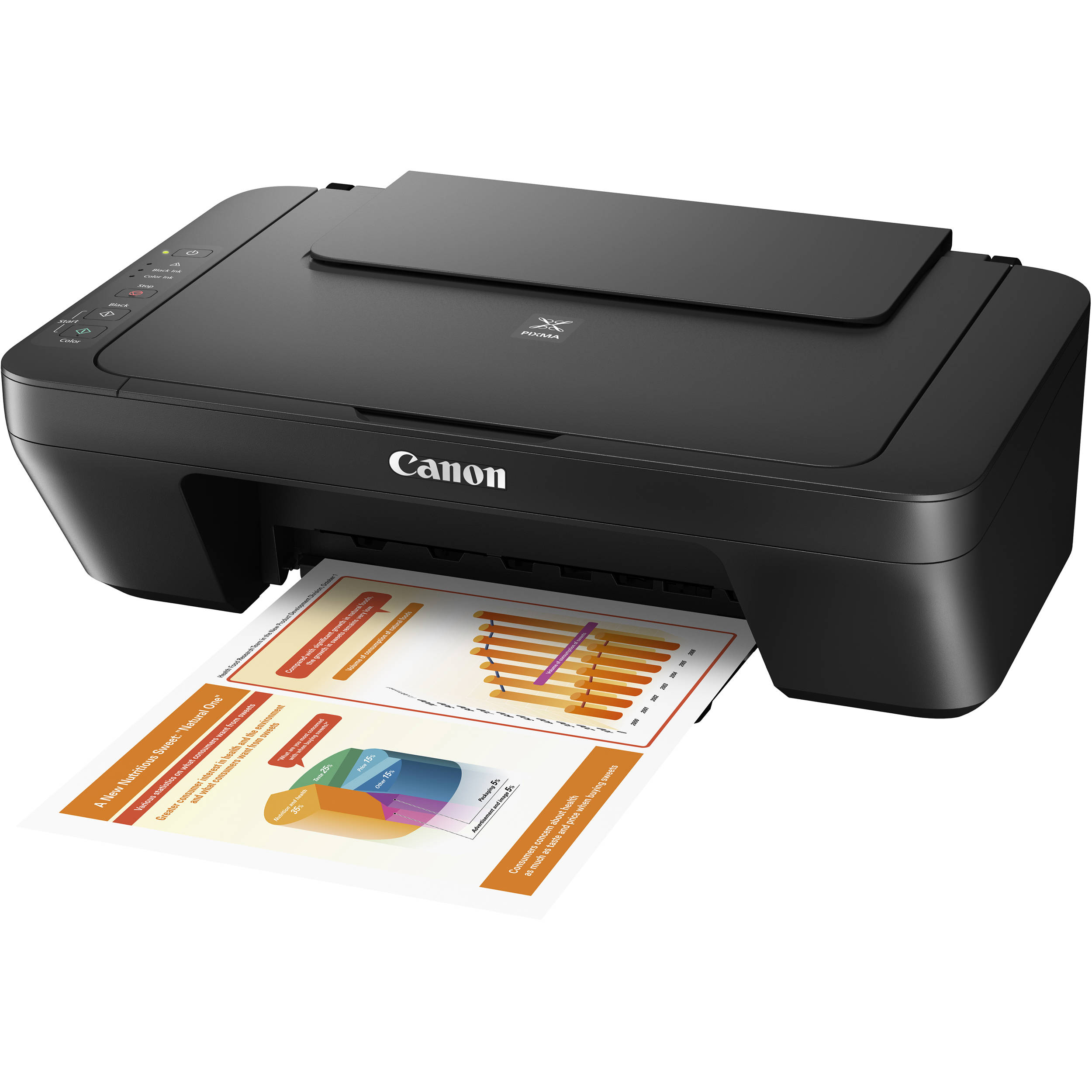 canon pixma mg2525 all in one inkjet printer black 0727c002. Black Bedroom Furniture Sets. Home Design Ideas