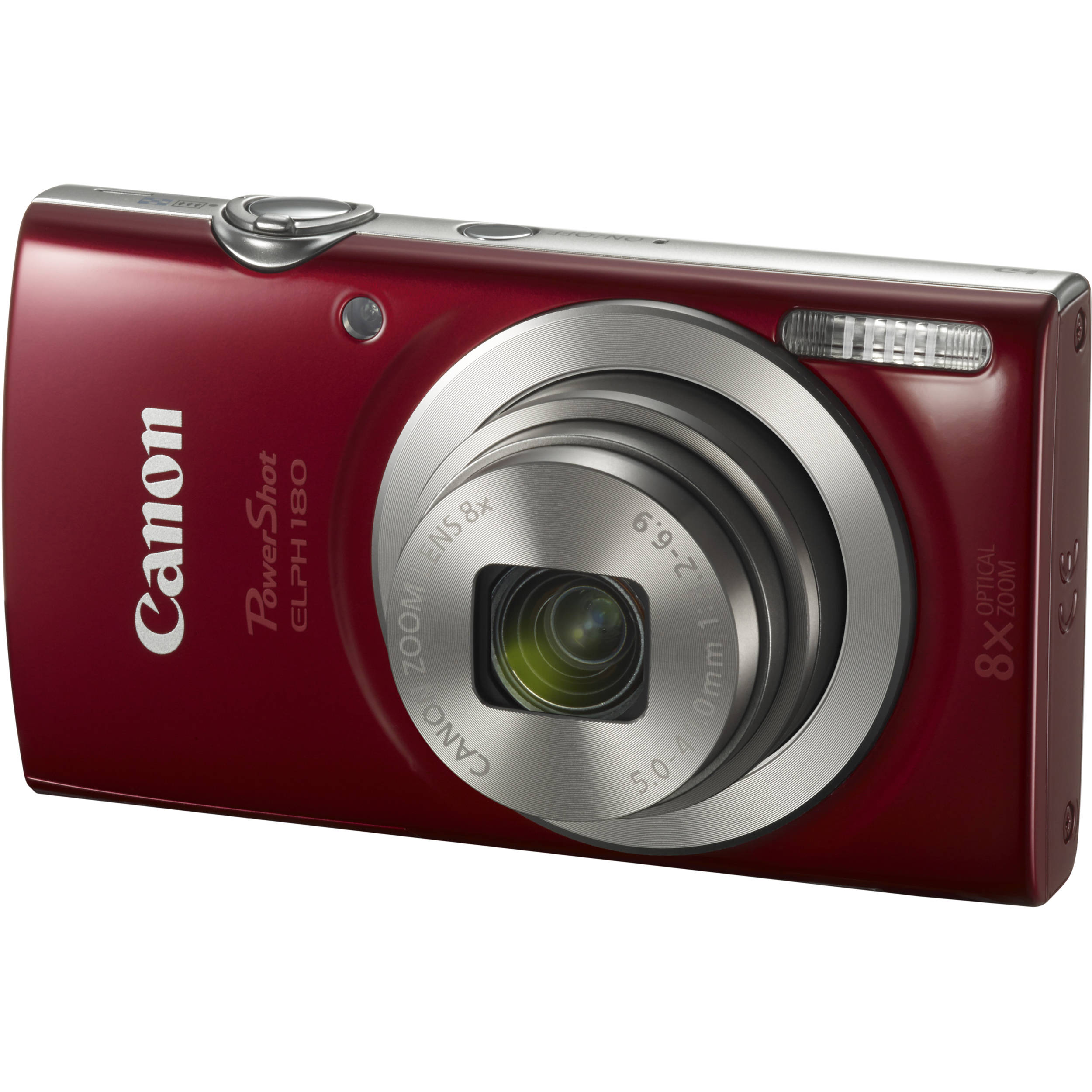 canon powershot elph 180 digital camera red 1096c001 b h photo rh bhphotovideo com canon elph aps manual canon elph 170 manual