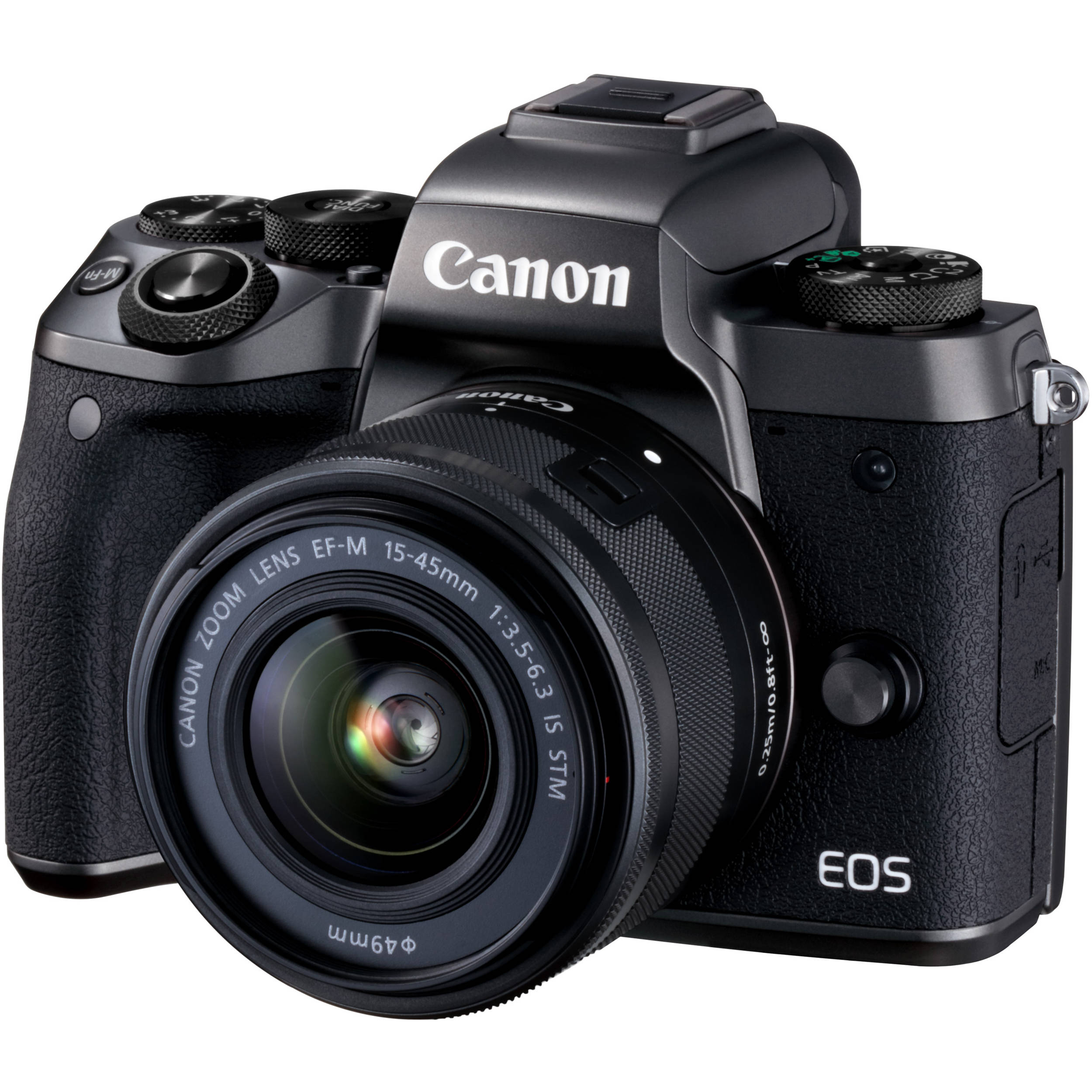 Canon Eos M5 Mirrorless Digital Camera With 15 45mm 1279c011aa Lensa 22mm Stm For M Lens
