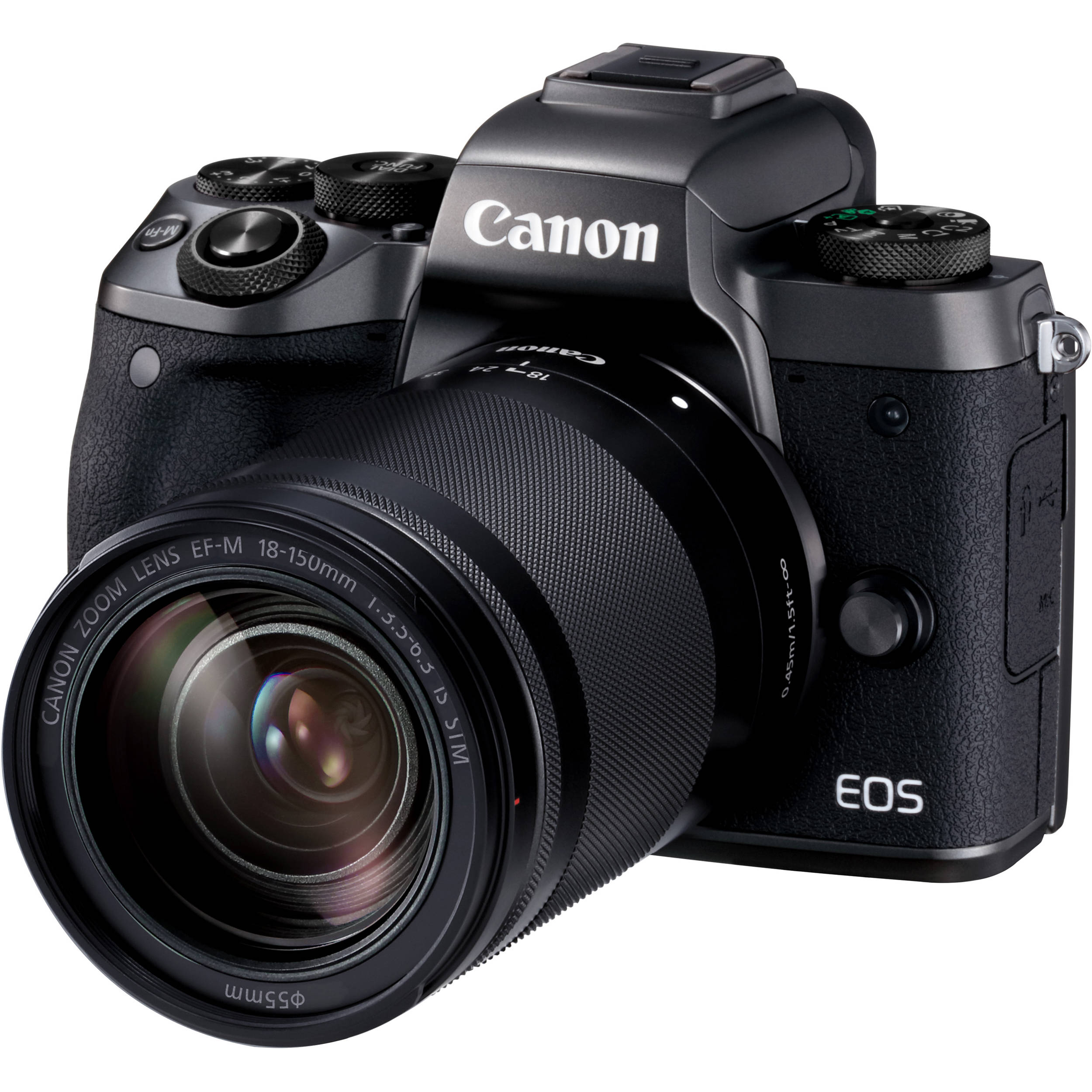 Canon EOS M5 Mirrorless Digital Camera with 18-150mm 1279C021AA