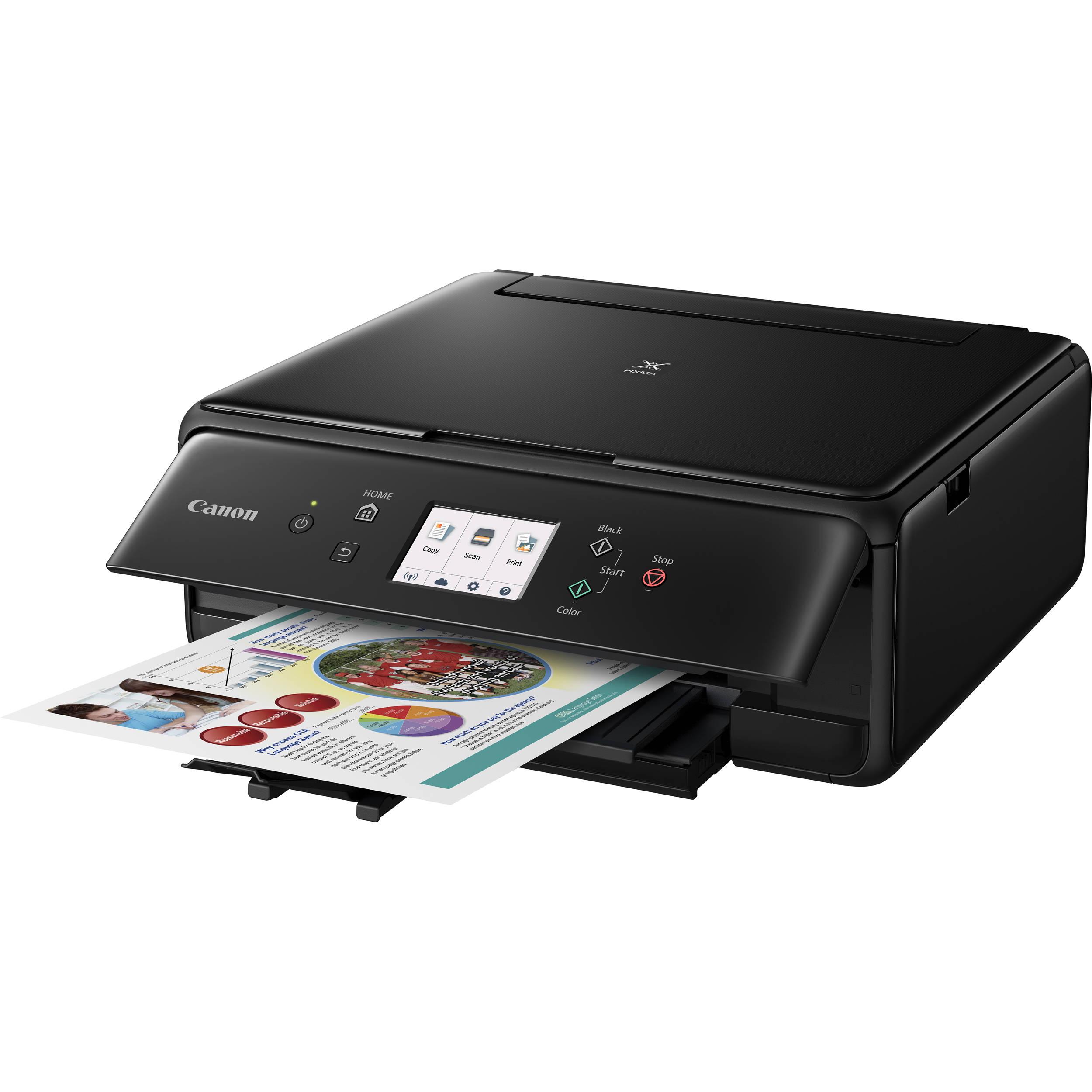 Canon PIXMA TS Wireless All in e Inkjet Printer C