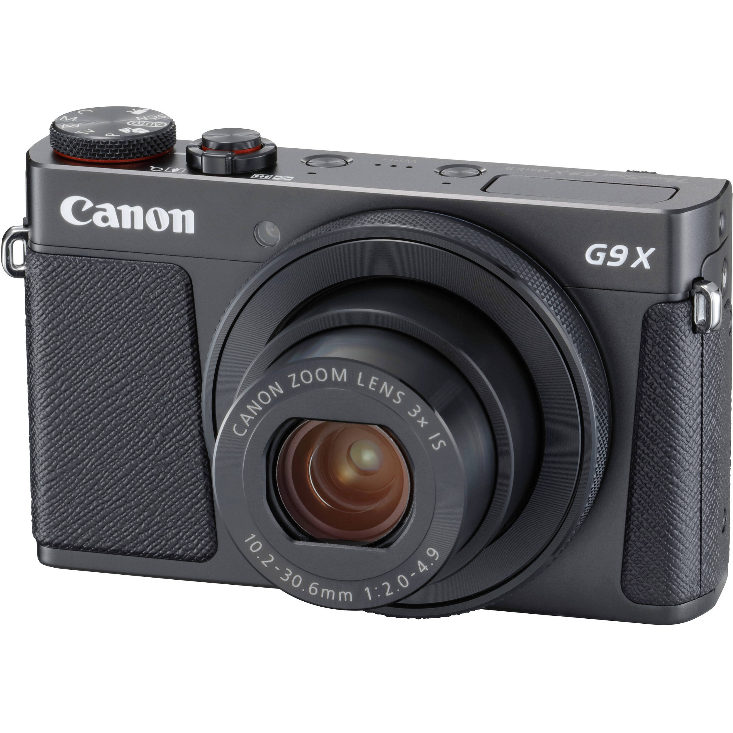 Canon G9X Mark II PowerShot Digital Camera (G9X II Black) B&H