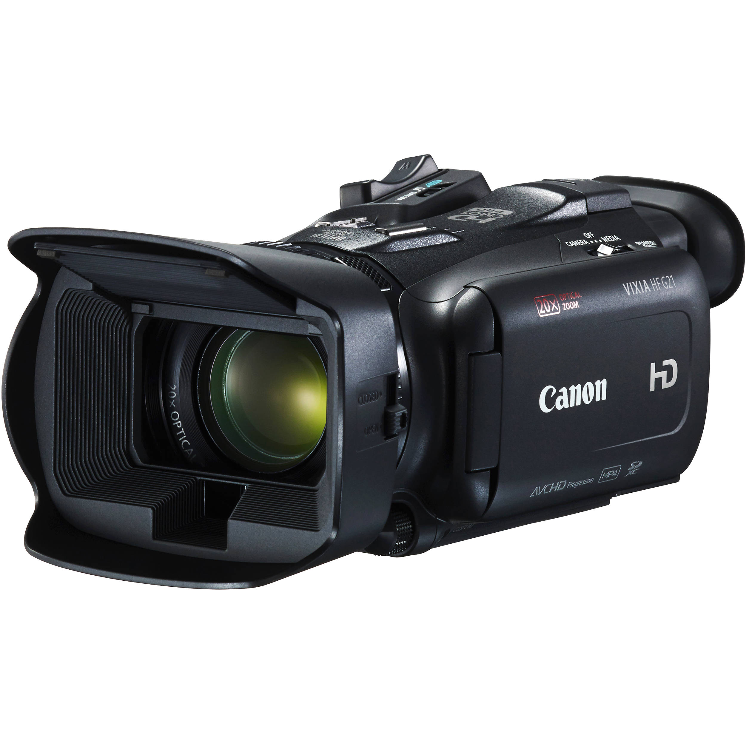 canon vixia hf g21 full hd camcorder 2404c002 b&h photo video