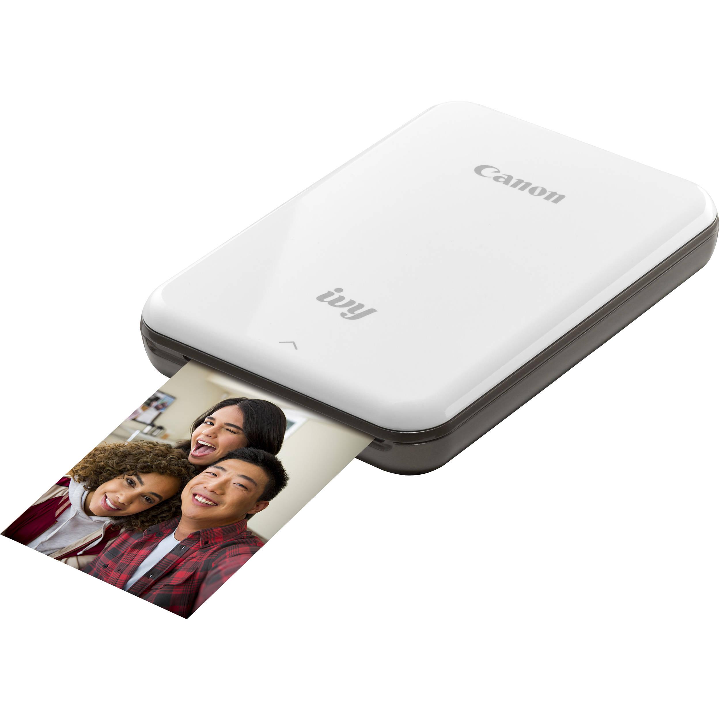 Canon Ivy Mini Mobile Photo Printer Slate Gray 3204c003 B Amp H